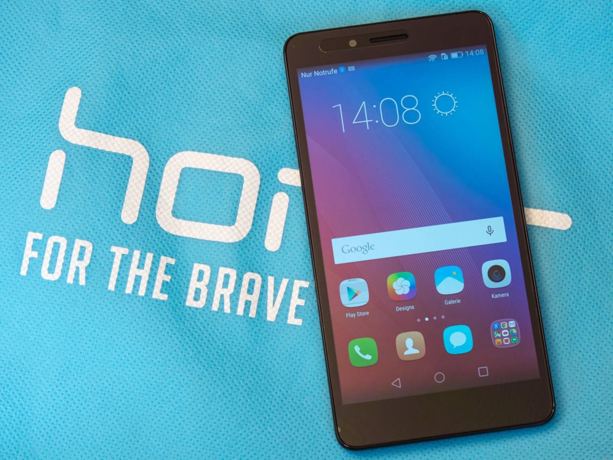 Honor 5X: Kein bunter Billig-Look trotz des günstigen Preises.
