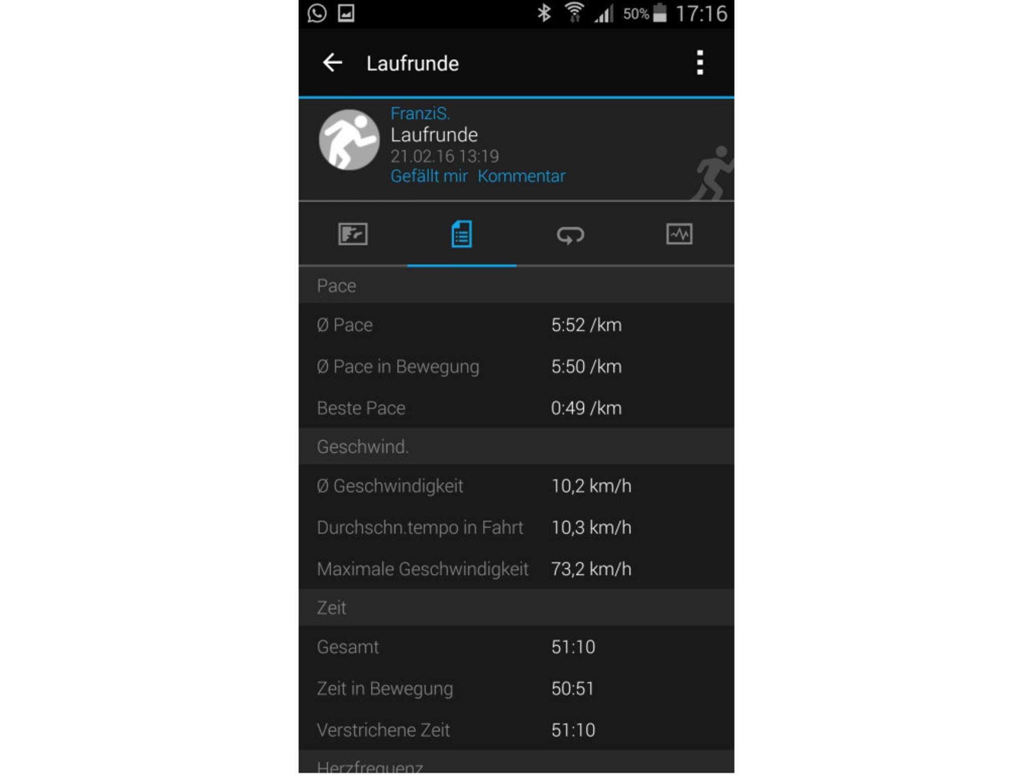 Garmin Vivosmart HR App 2