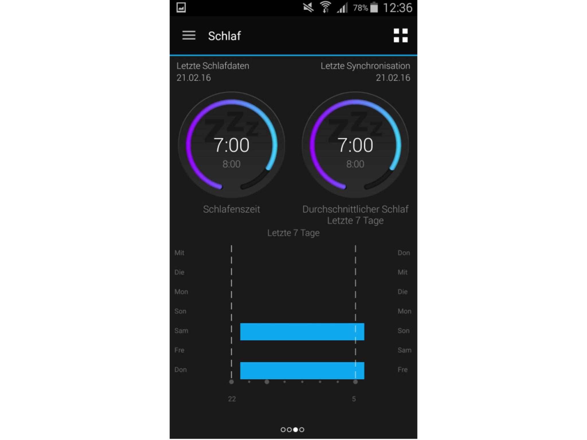Garmin Vivosmart HR App 8