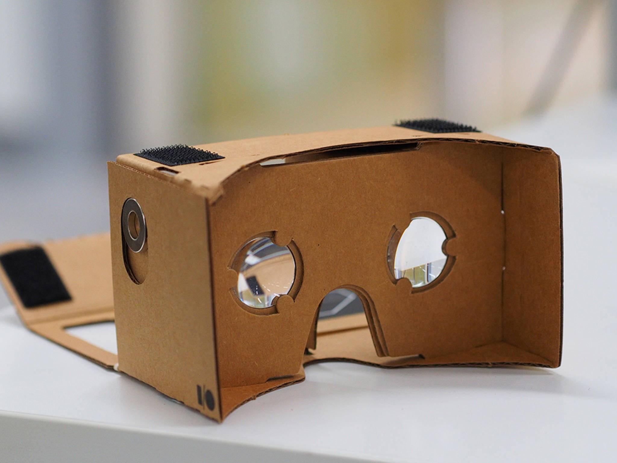 Google Cardboard: Die günstige VR-Brille war ein großer Erfolg.