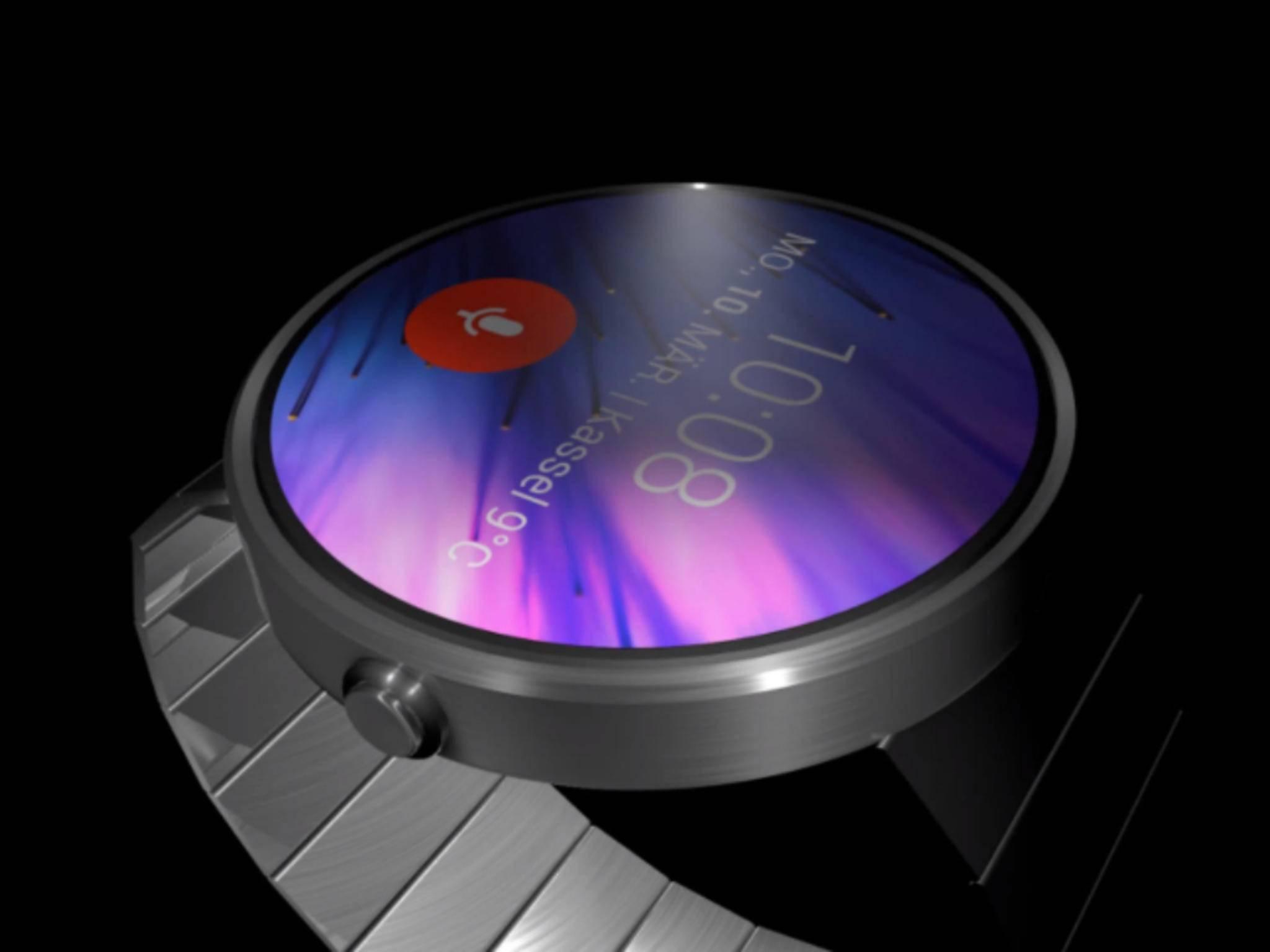 Die echte HTC-Smartwatch werden wir wohl erst im Herbst zu Gesicht bekommen.