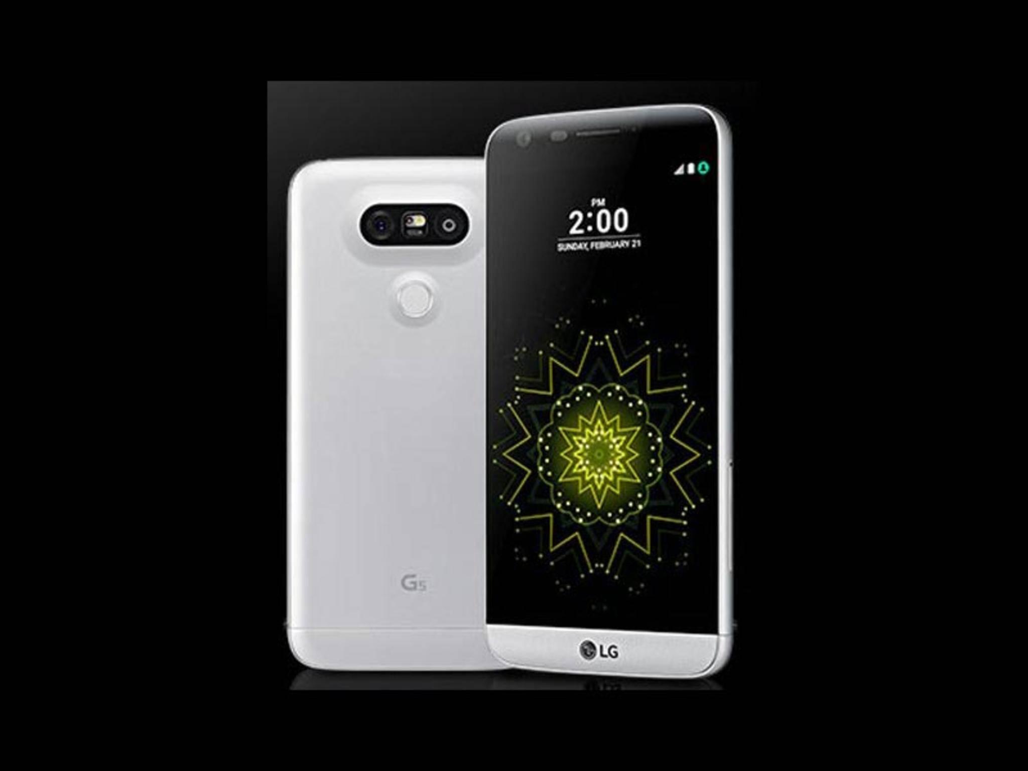 So soll das LG G5 offenbar aussehen.