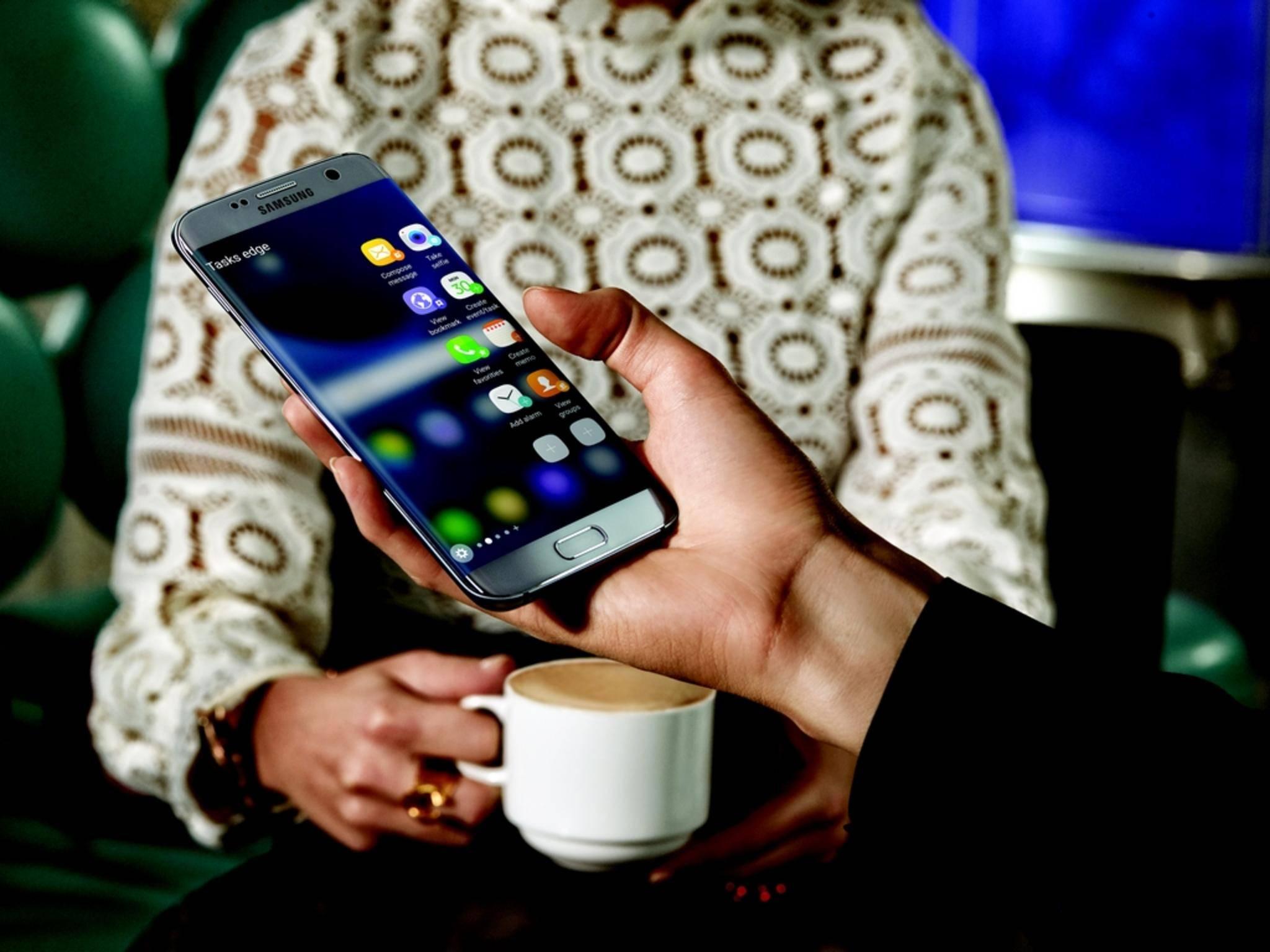 Das Samsung Galaxy S7 wurde auf dem MWC 2016 vorgestellt.
