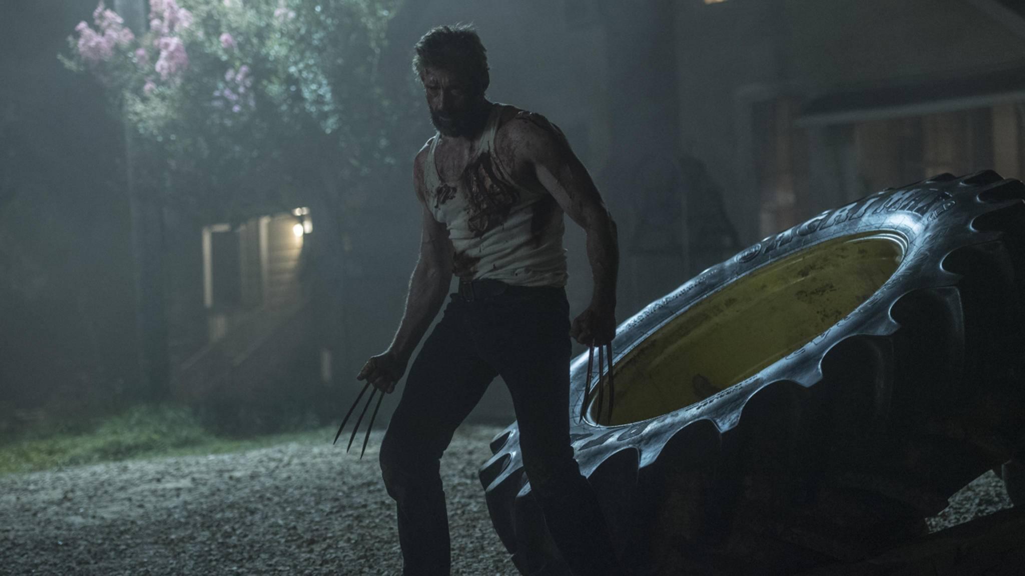 """""""Logan"""" (Bild) und """"Deadpool"""" haben es gezeigt: Superhelden-Filme ab 18 feiern zurzeit bahnbrechende Erfolge an den Kinokassen."""