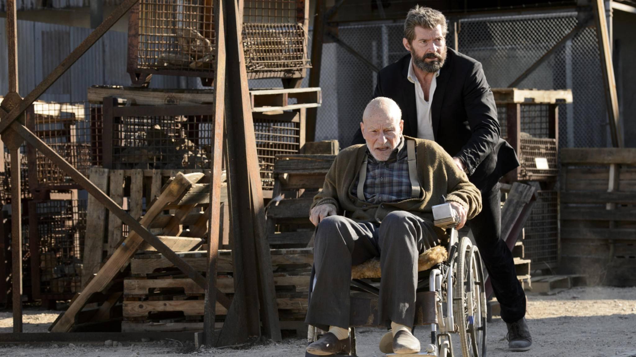 """Für einen von beiden ist """"Logan"""" nicht zwingend das letzte """"X-Men""""-Abenteuer."""