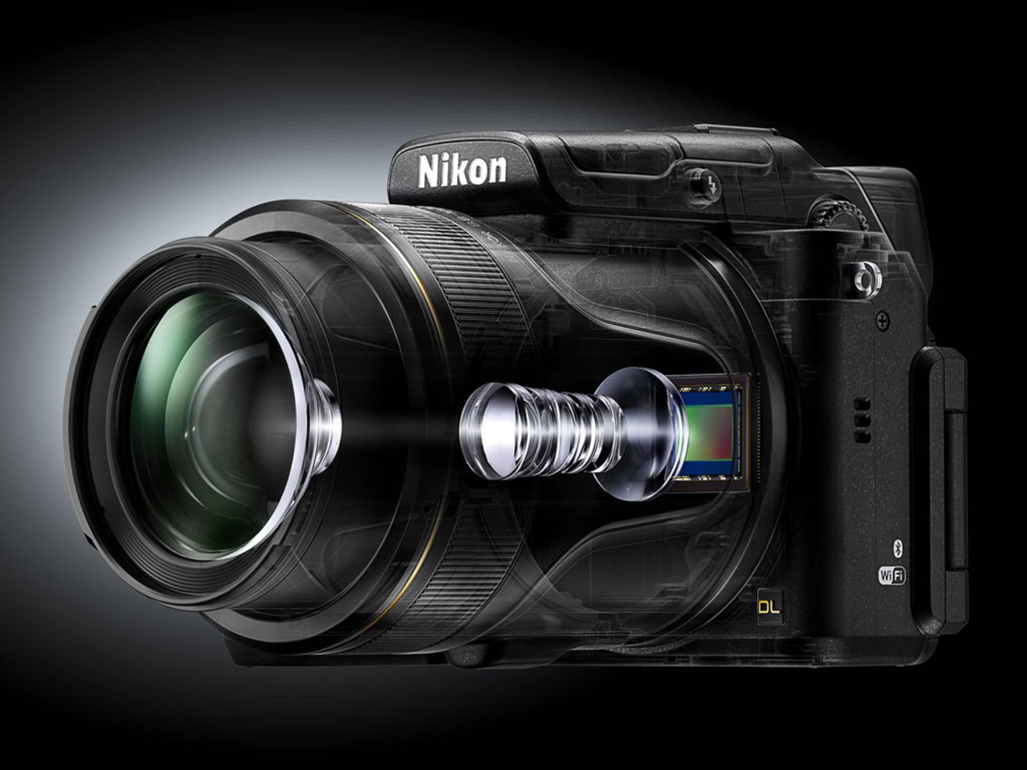 Die Nikon DL24-500 ist eine der neuen Premium-Kompaktkameras.