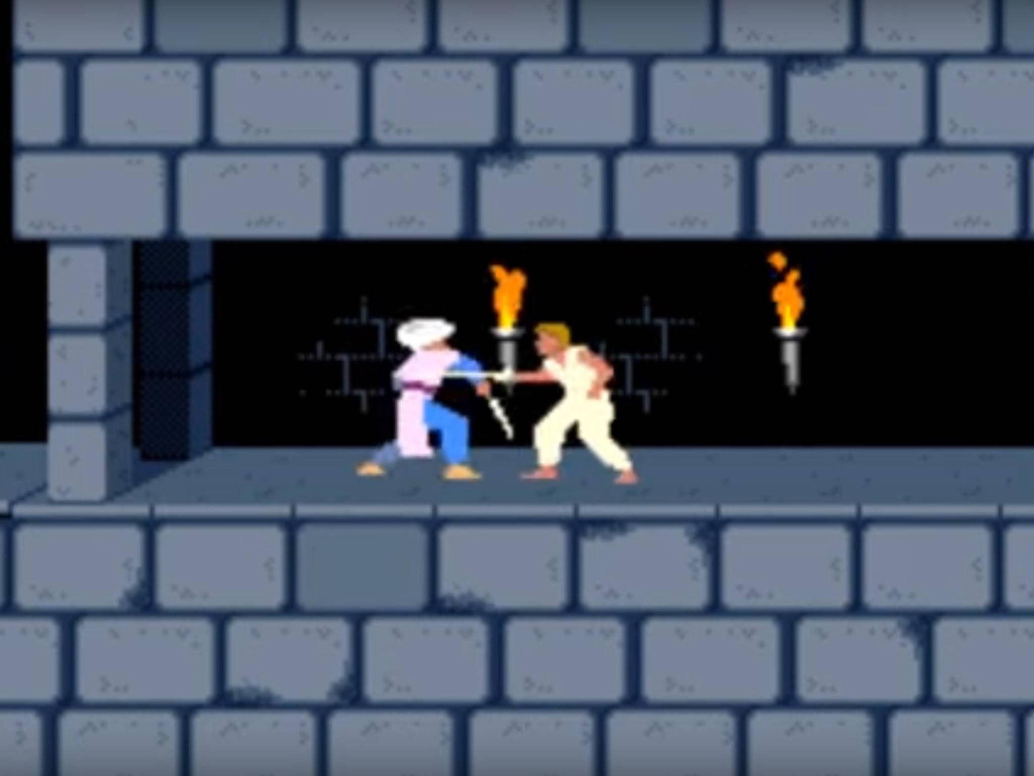 """In """"Prince of Persia"""" hat der Spieler eine Stunde Zeit, um die Prinzessin zu retten."""