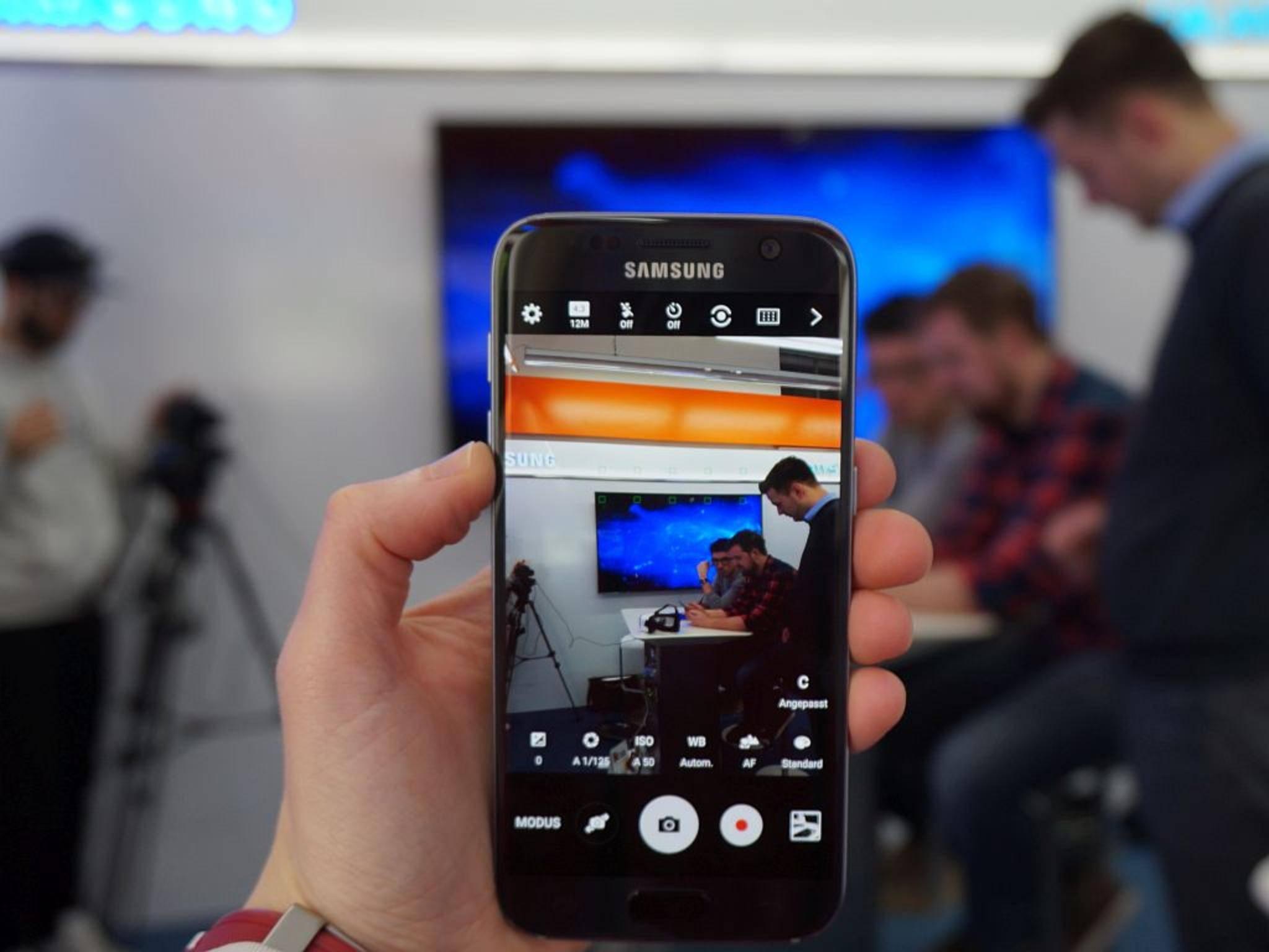 NICHT VERWENDEN VOR 21. FEBRUAR! Samsung Galaxy S7 21