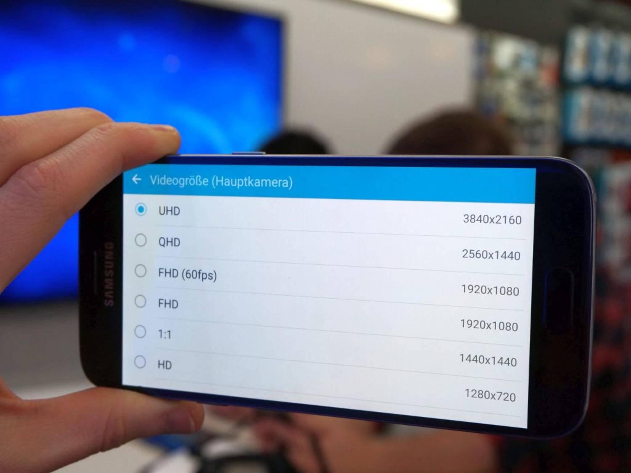 Videos werden maximal in 4K gedreht.