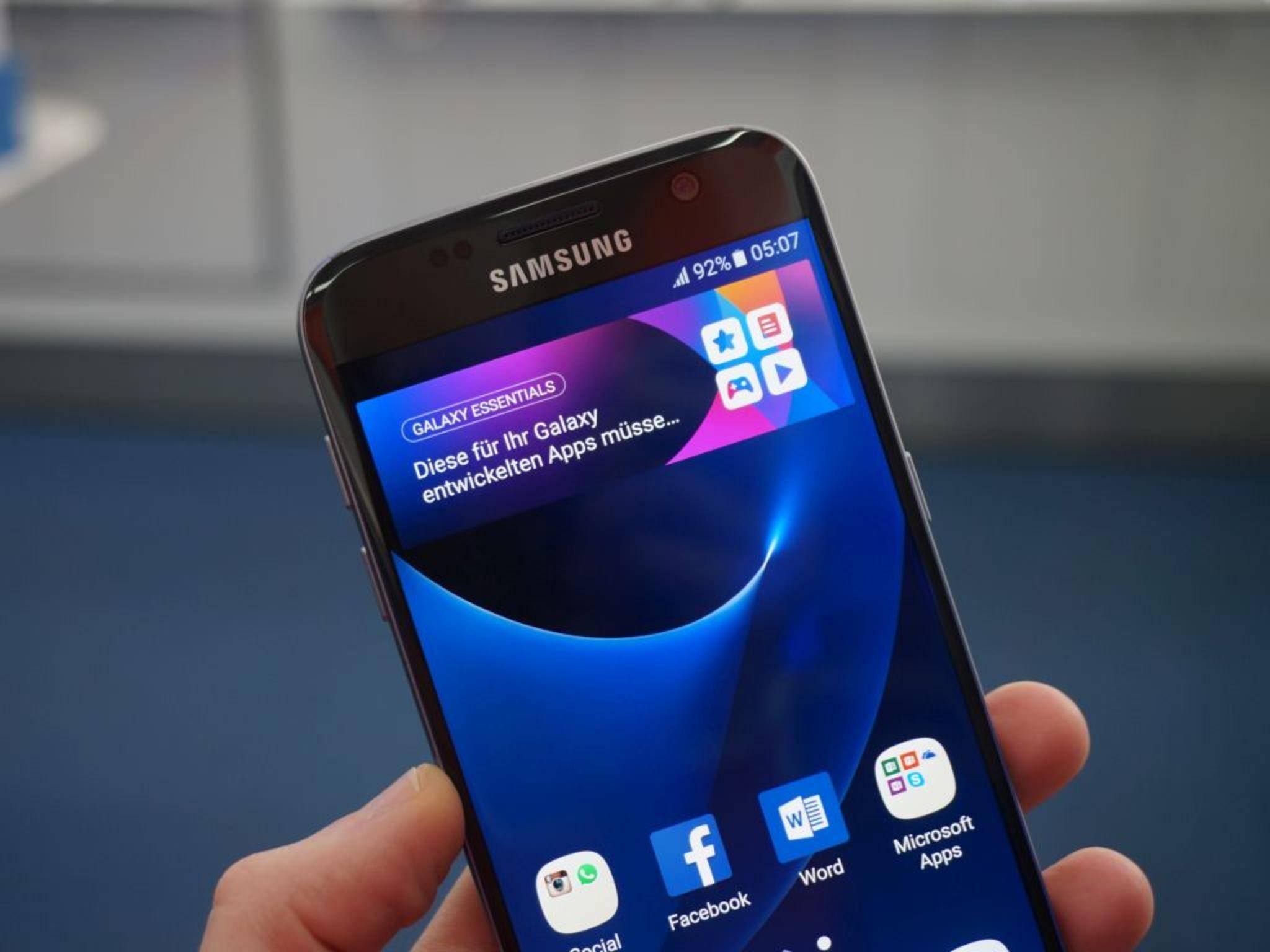 NICHT VERWENDEN VOR 21. FEBRUAR! Samsung Galaxy S7 25