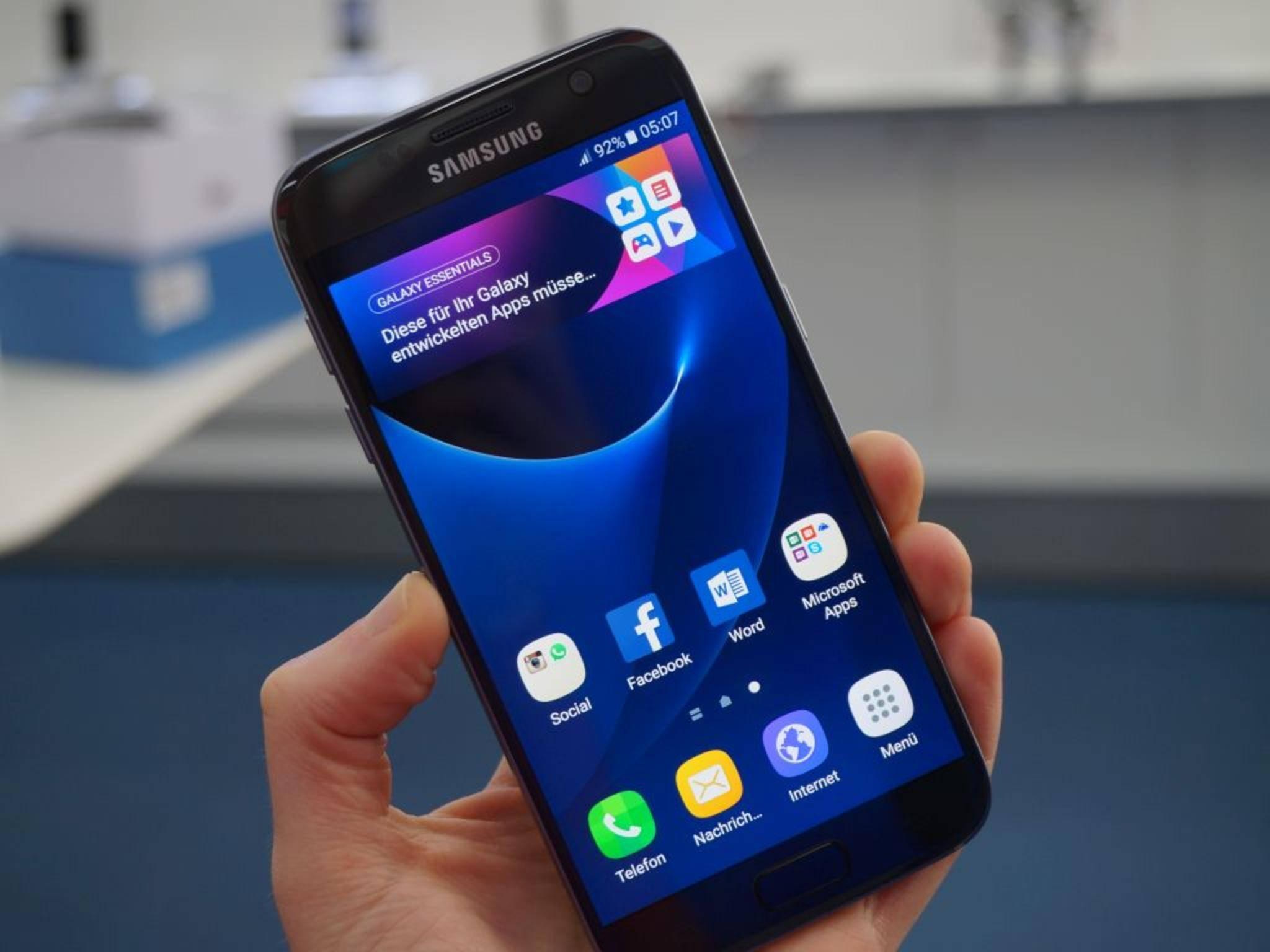 "Das Galaxy S7 hat laut DisplayMate das ""best performing smartphone display""."