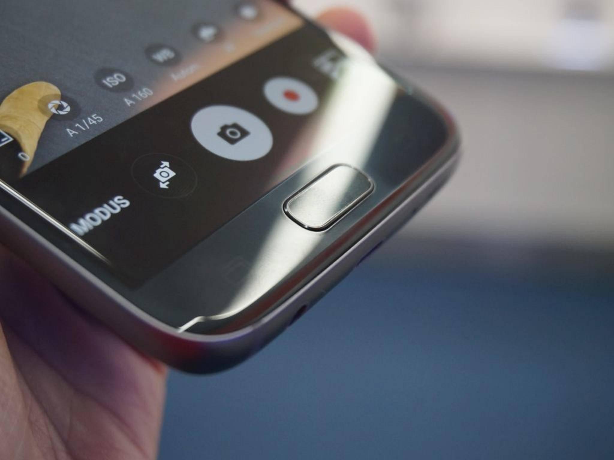 Die Form des Home-Buttons wurde nur minimal angepasst.