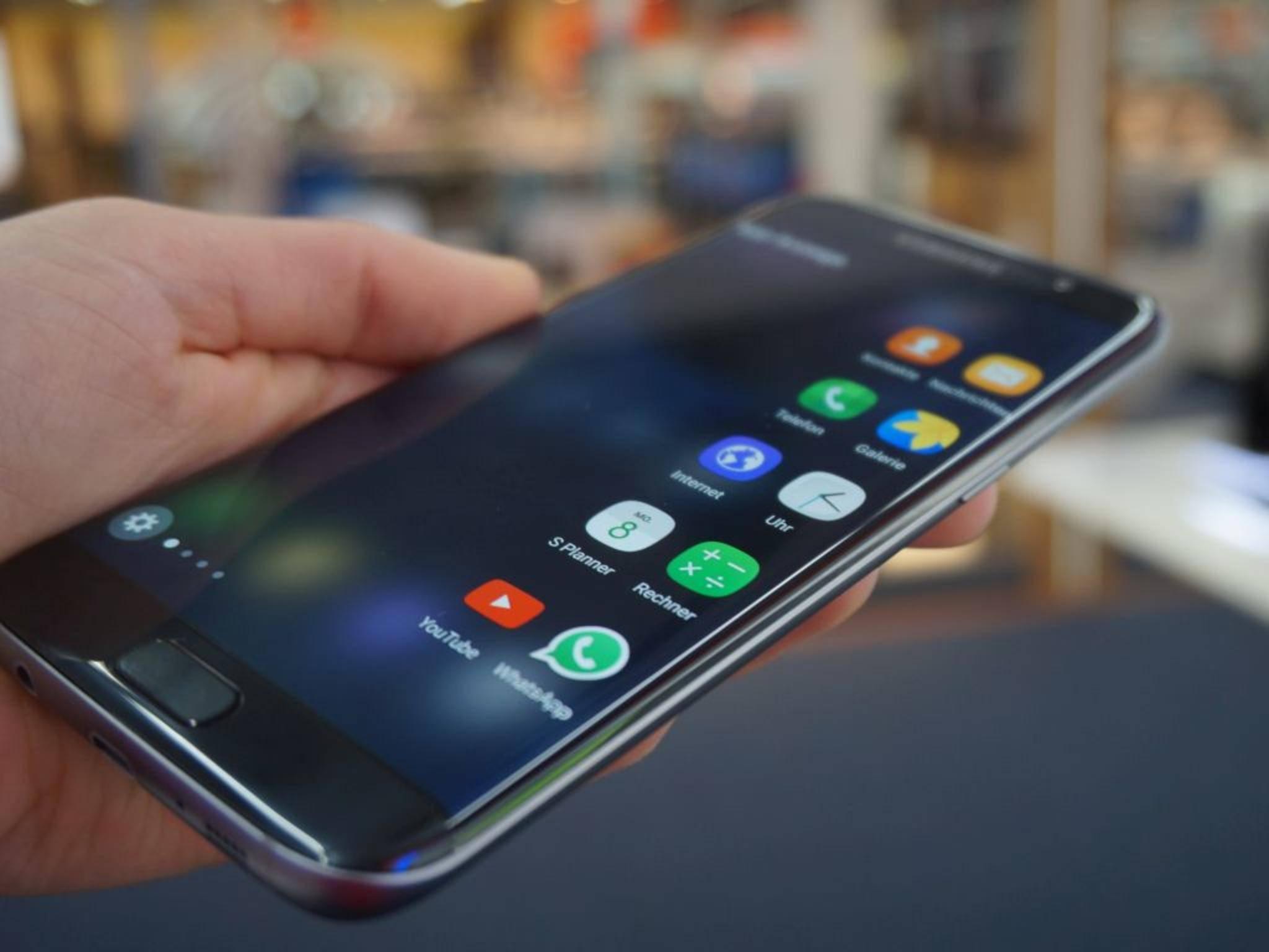 NICHT VERWENDEN VOR 21. FEBRUAR! Samsung Galaxy S7 Edge 22