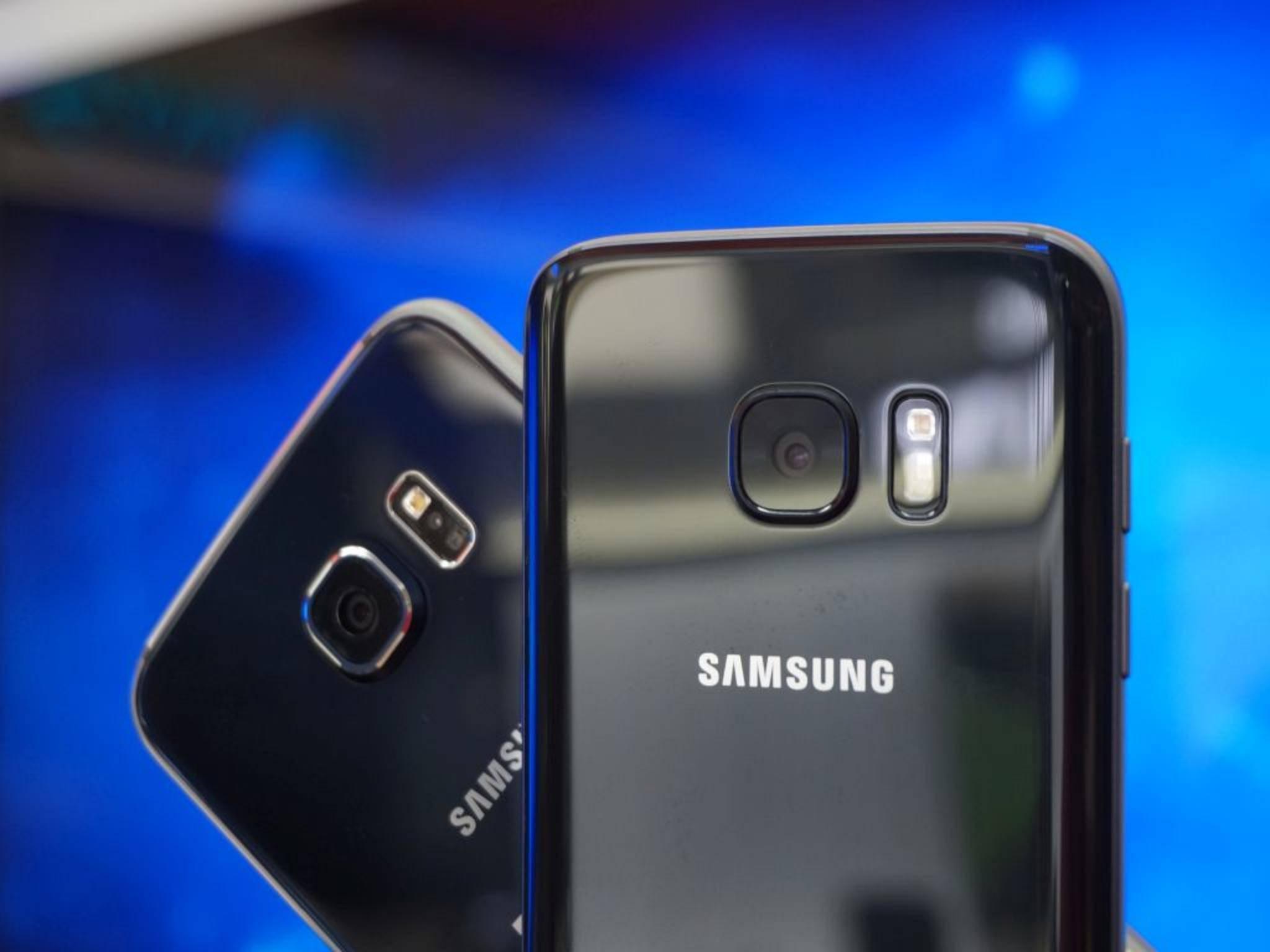 NICHT VERWENDEN VOR 21. FEBRUAR! Samsung Galaxy S7 Galaxy S6 10