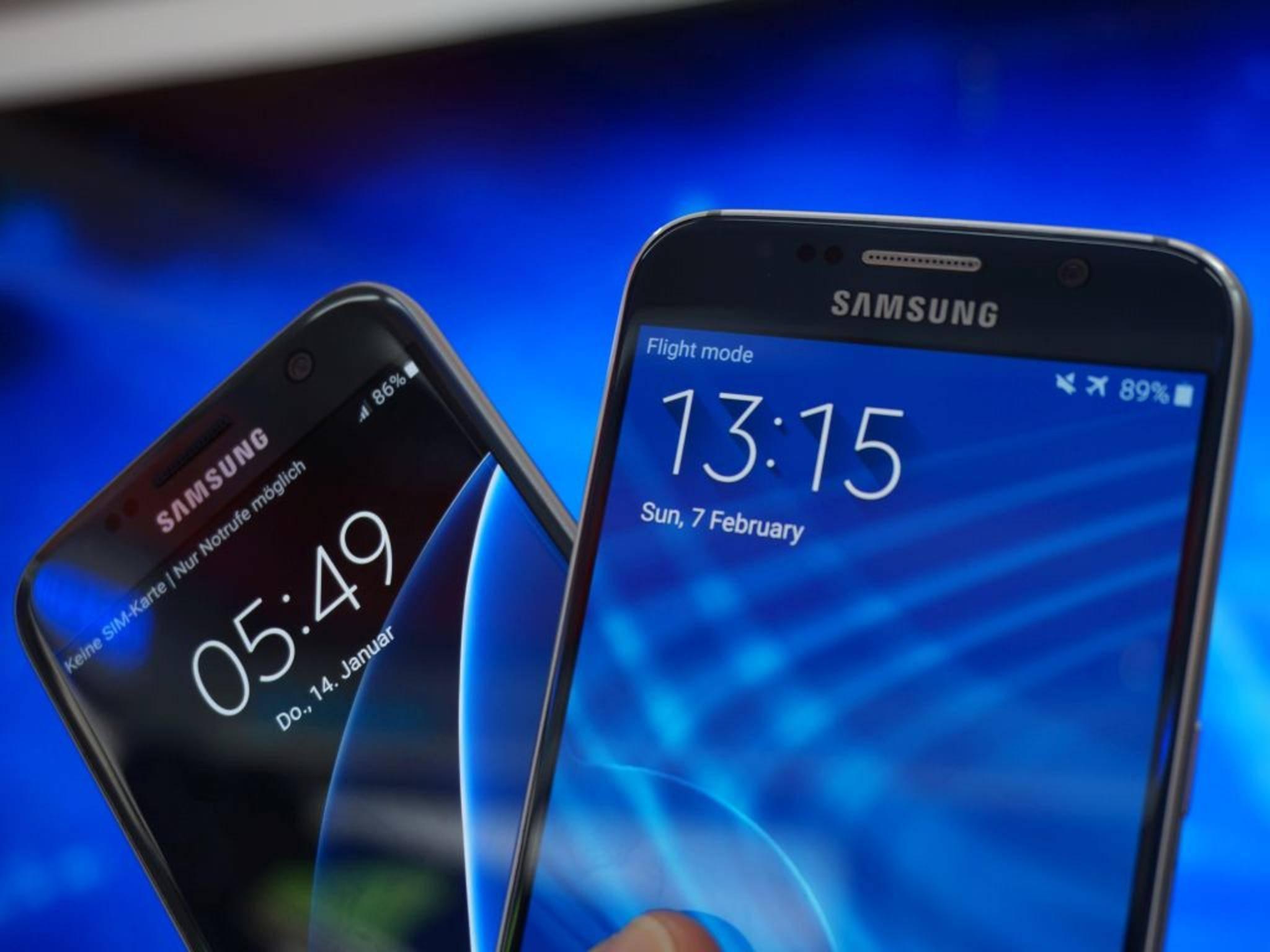 NICHT VERWENDEN VOR 21. FEBRUAR! Samsung Galaxy S7 Galaxy S6 11