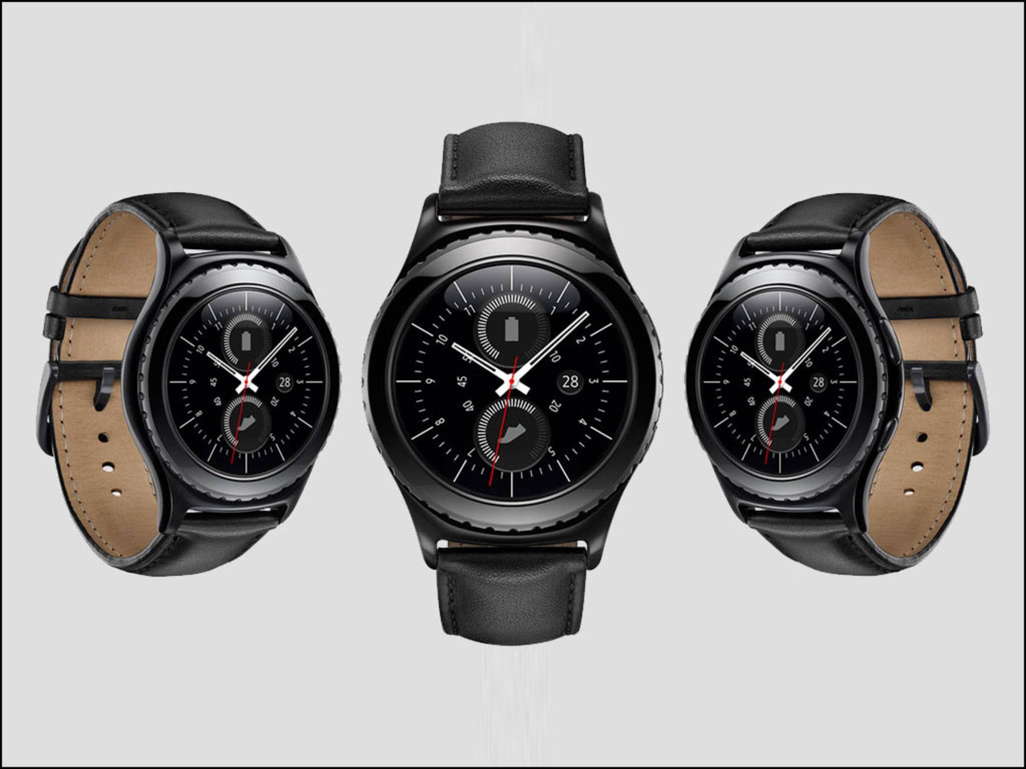 Die Samsung Gear S2 classic 3G ist die erste Smartwatch mit eSIM.