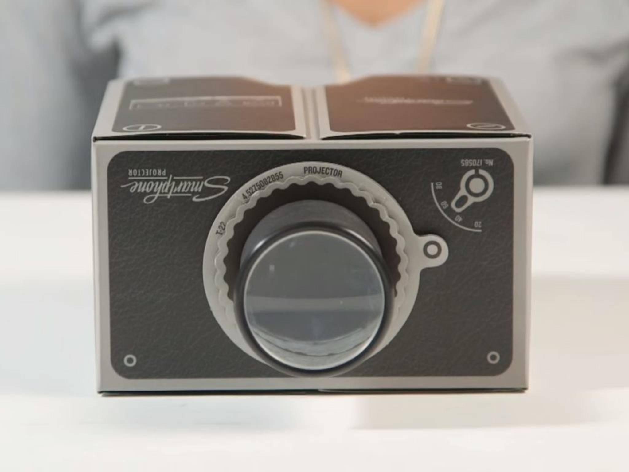 Bastel-Kits für Smartphone-Projektoren kannst Du auch kaufen.
