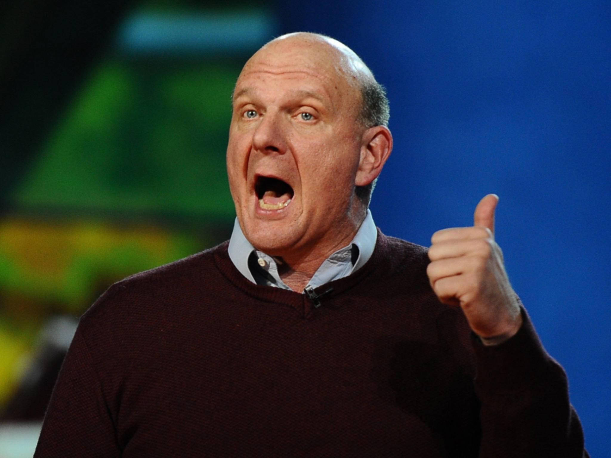 Steve Ballmer wurde dank Microsoft sehr reich.