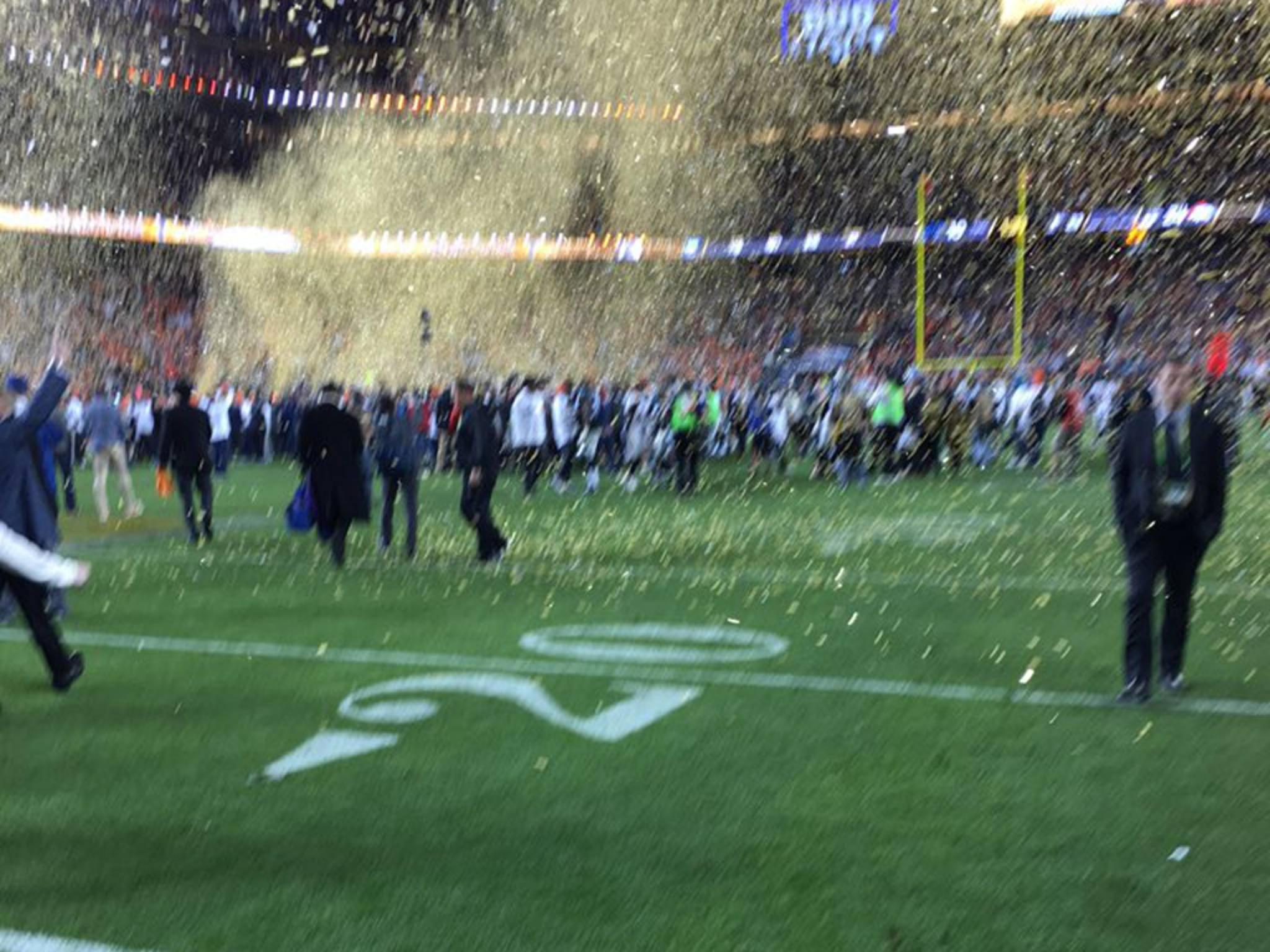 Dieses Foto vom Super Bowl brachte Tim Cook reichlich Spott ein.