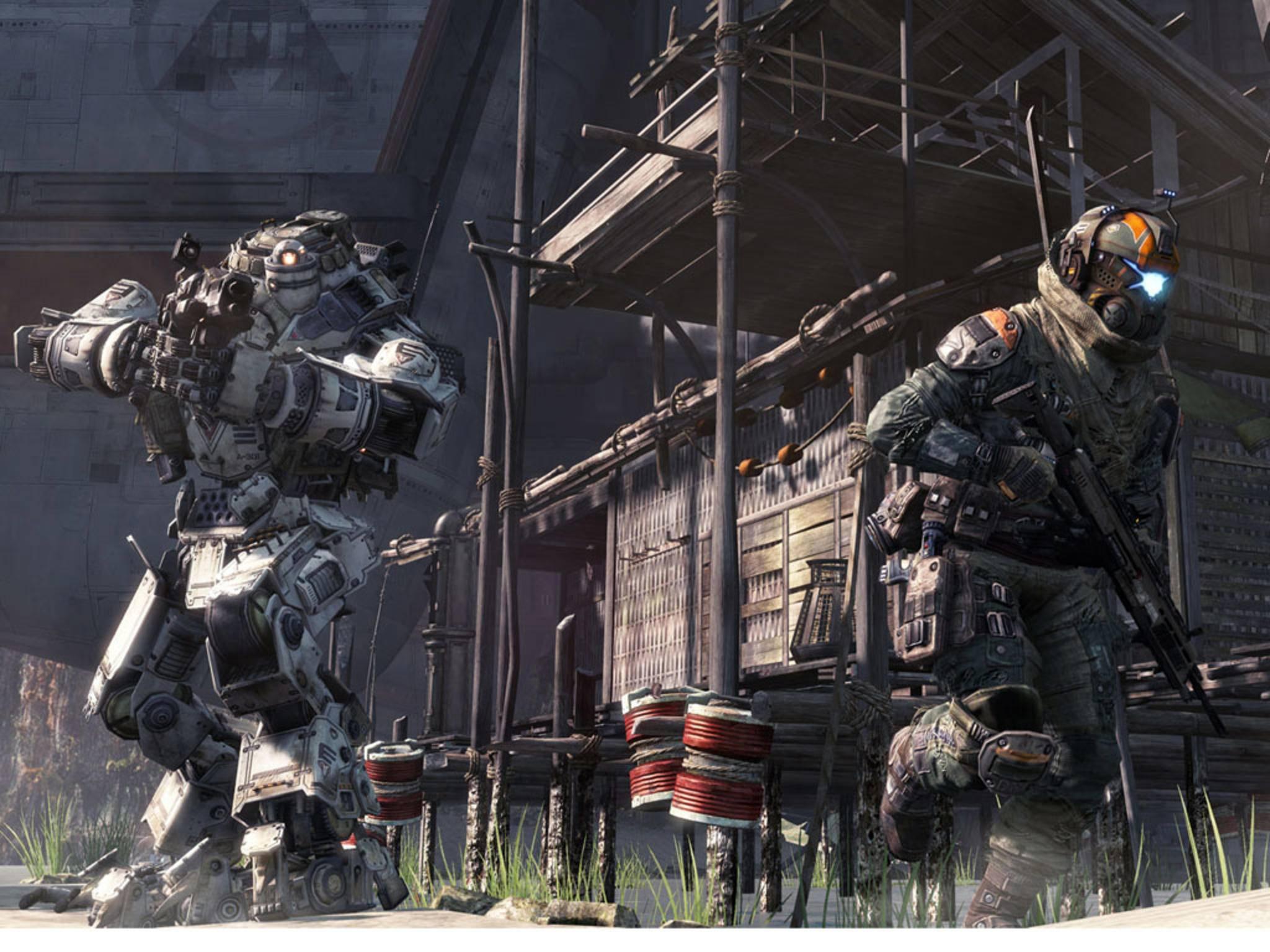 """""""Titanfall"""" bekommt einen Nachfolger mit Singleplayer-Kampagne."""