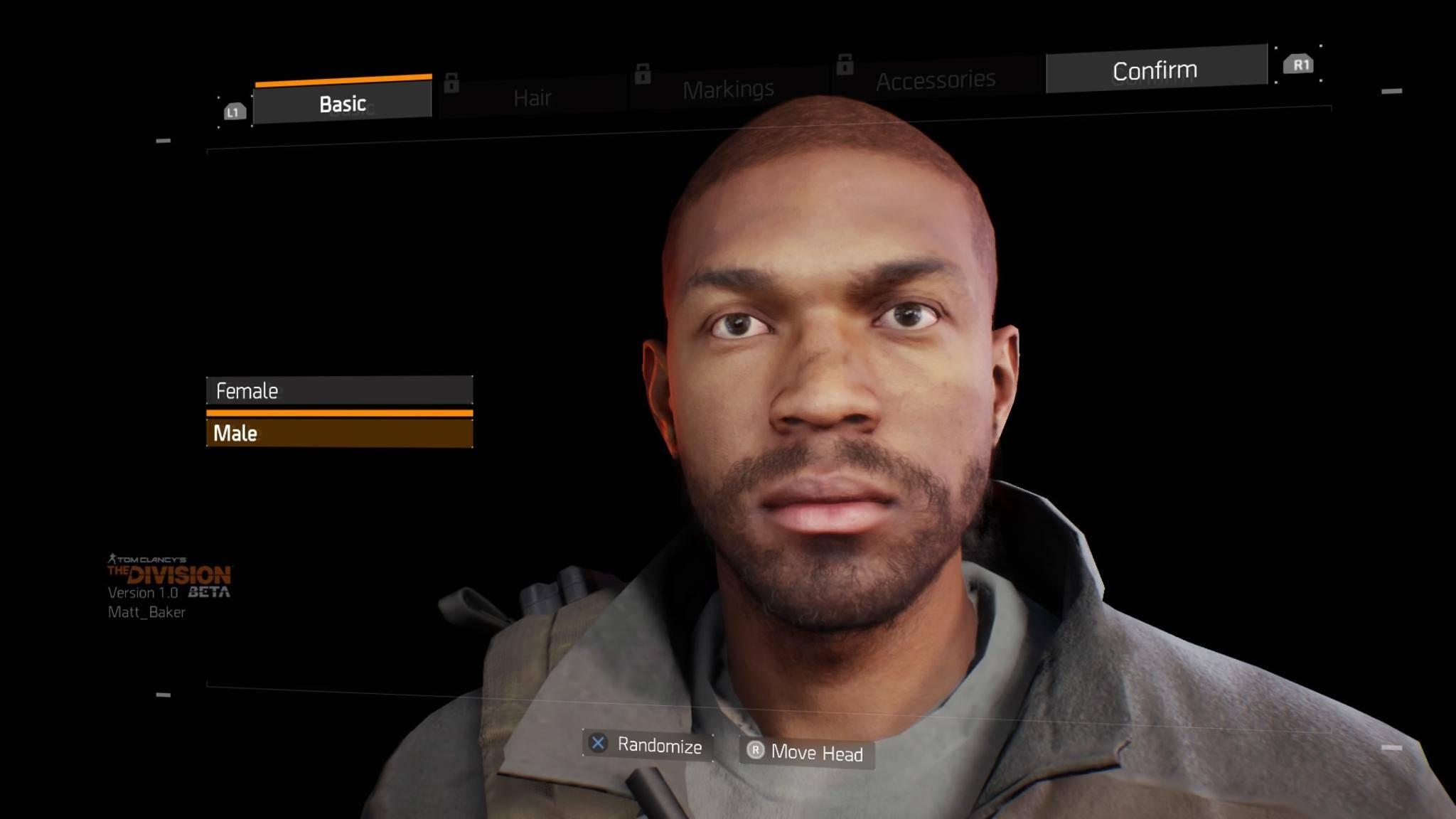 Am Anfang der Beta stand ein kurzer Charakter-Editor.