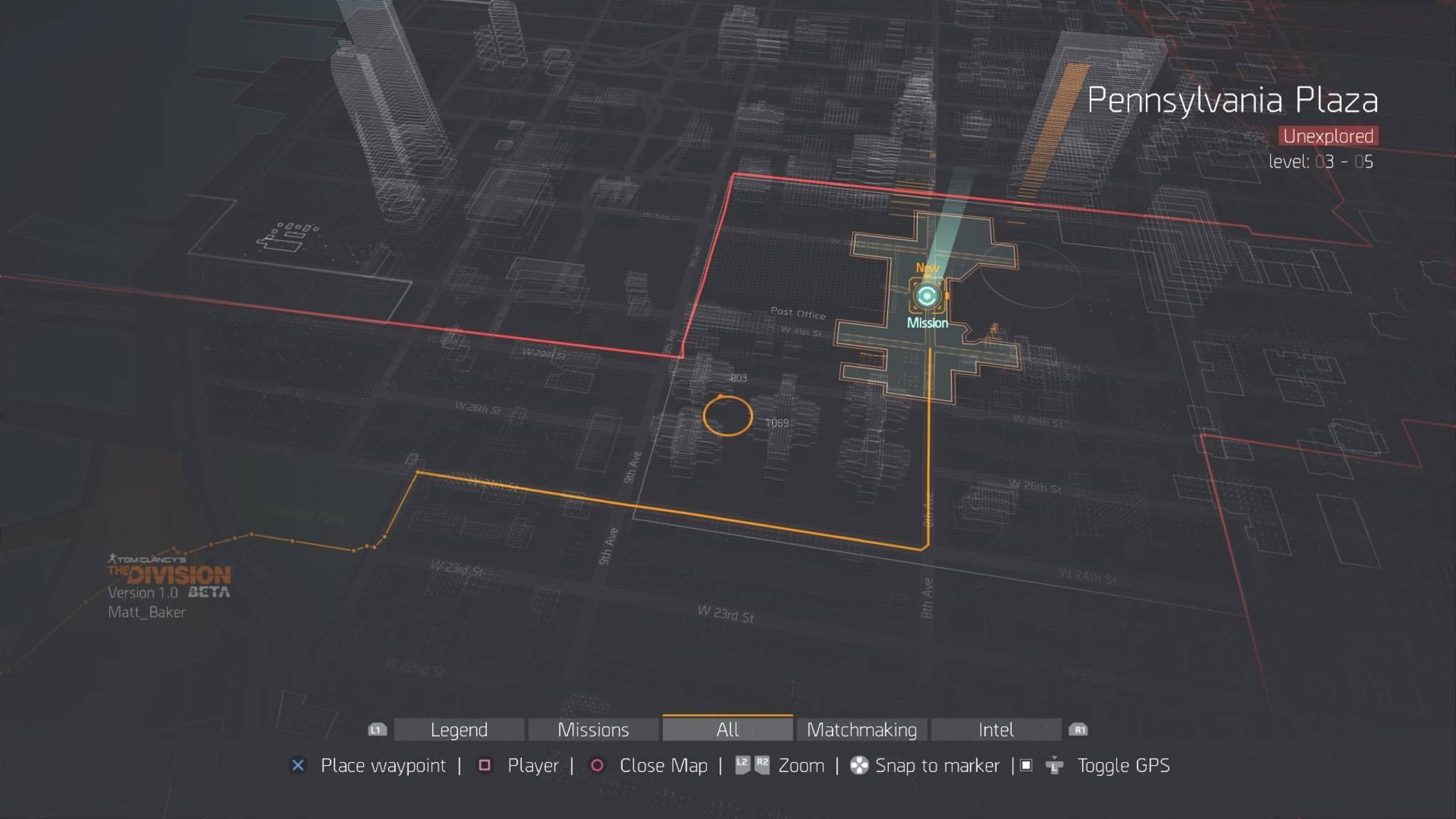 Die Karte von New York wird direkt ins Spiel eingeblendet.