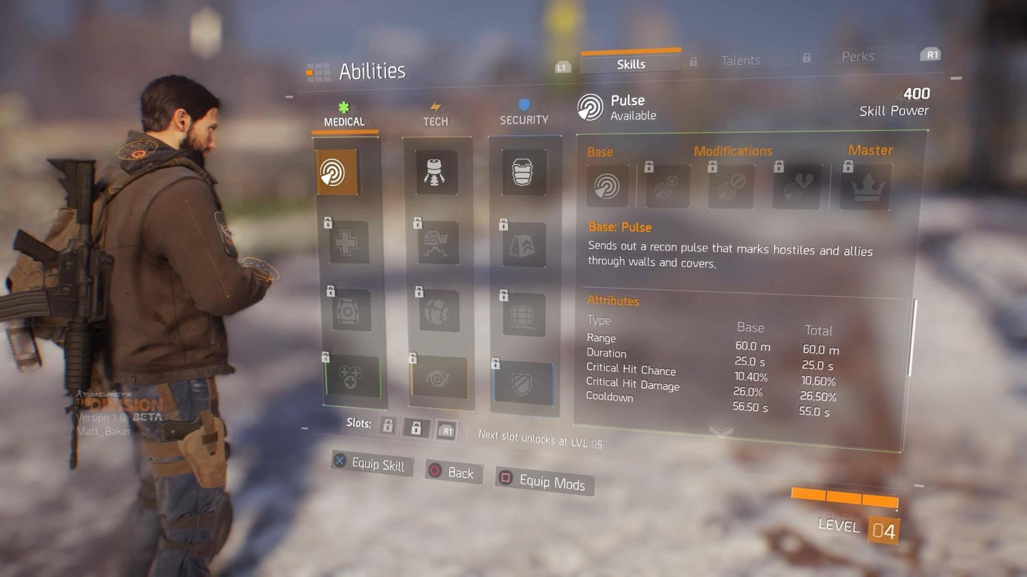 Das Spiel hat ein umfangreiches System zur Charakter-Verbesserung.