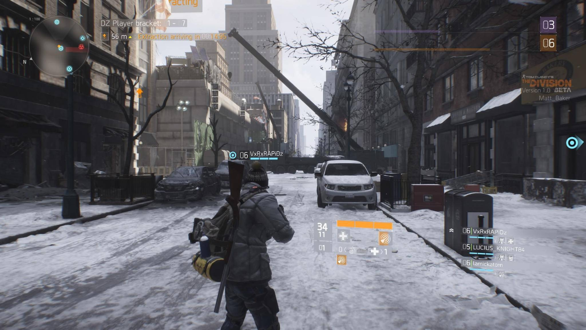 the division beta ende