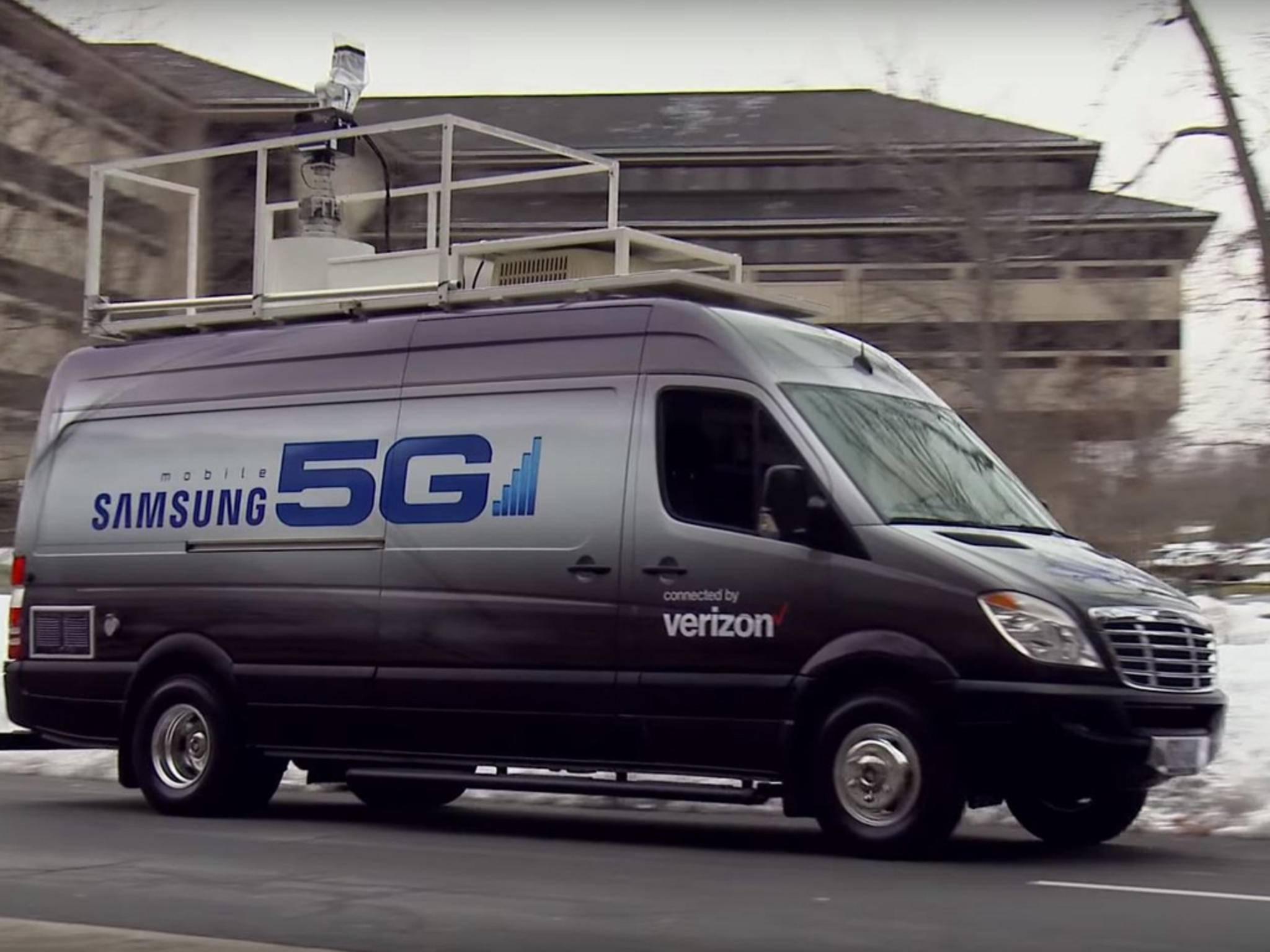Samsung gehört zu den Vorreitern bei 5G-Übertragungen.
