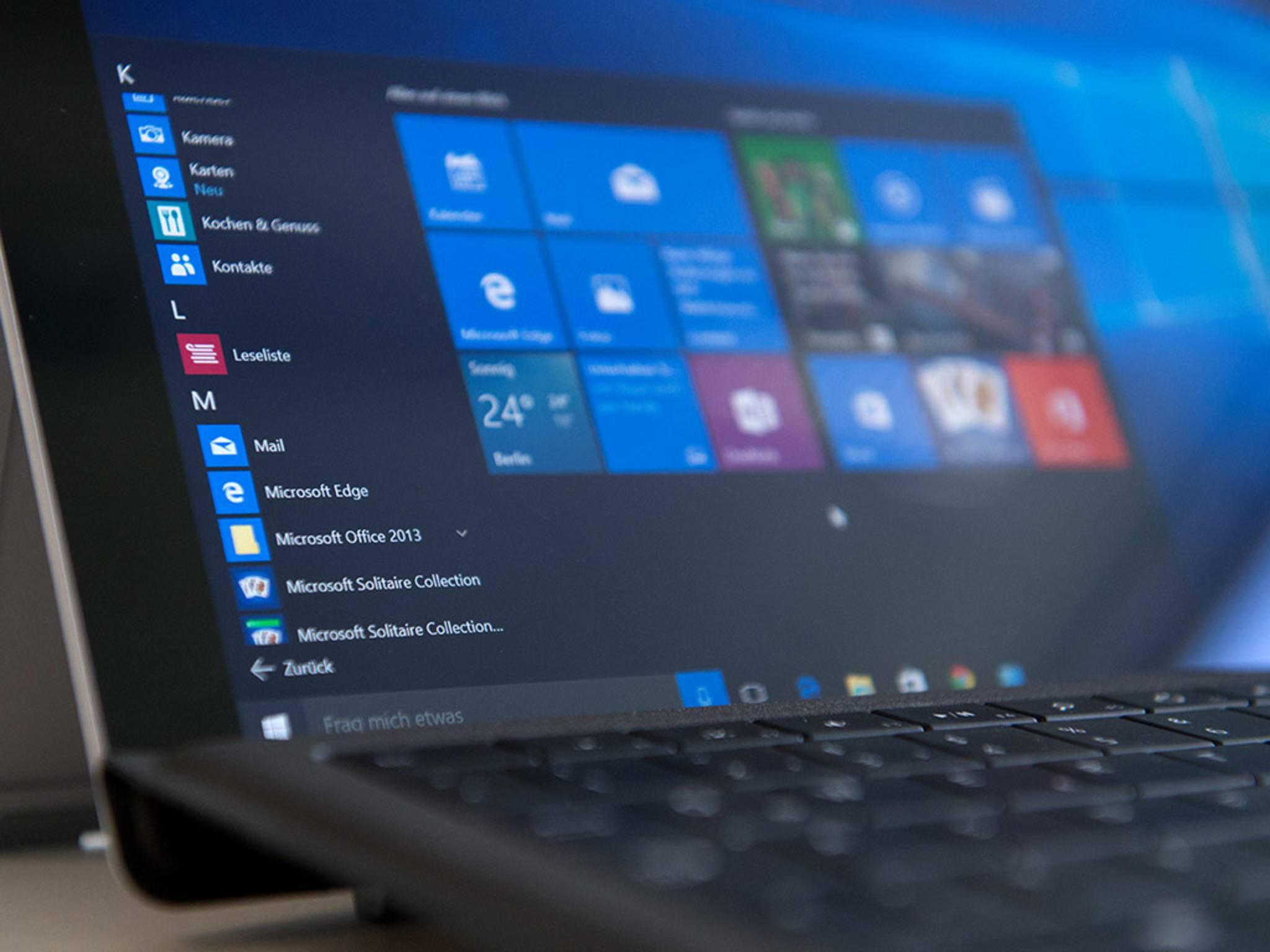 Datenschutz: Windows 10 telefoniert 5500 Mal nach Hause