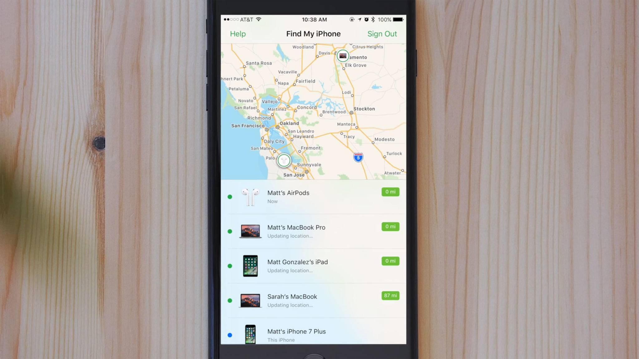 Mit der iPhone-Ortung kannst Du Dein Smartphone wiederfinden.