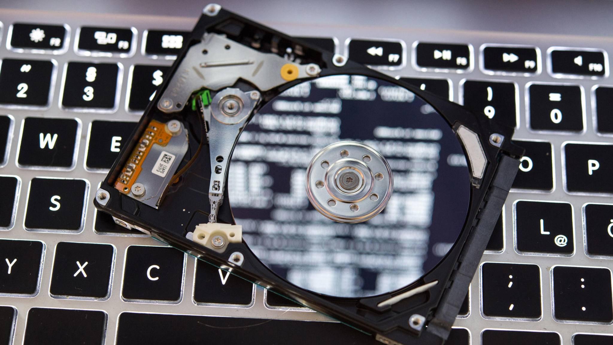 So löschst Du alle Daten Deiner Festplatte.