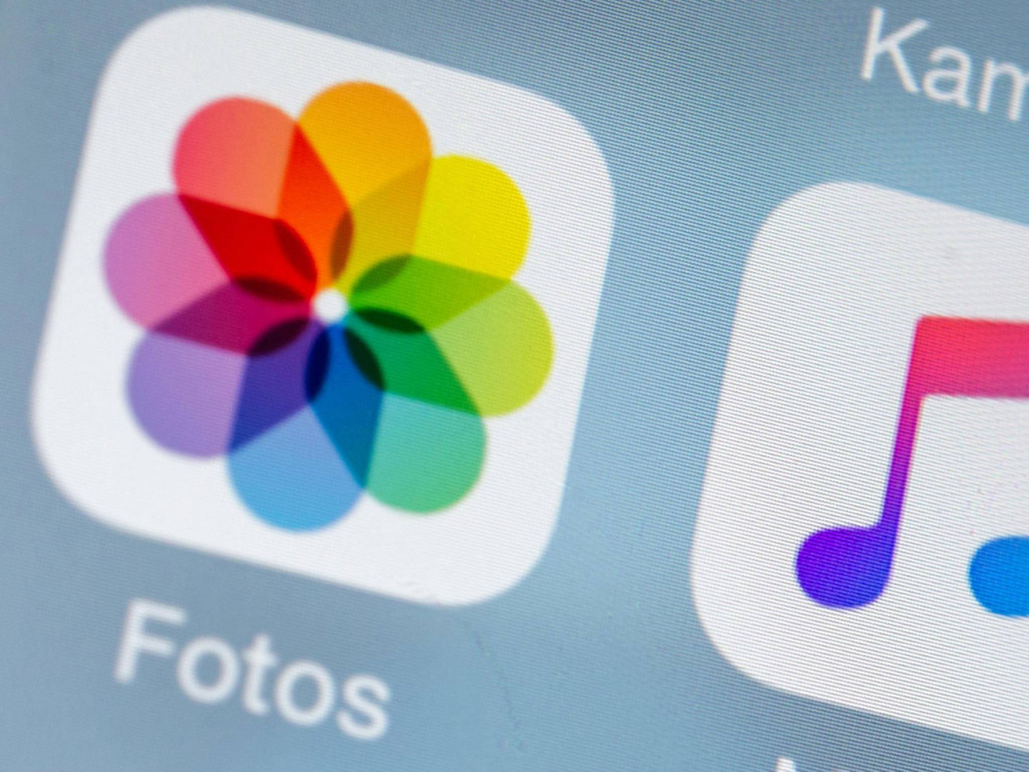 Die Foto-App dürfte in iOS 10 deutlich verbessert daherkommen.
