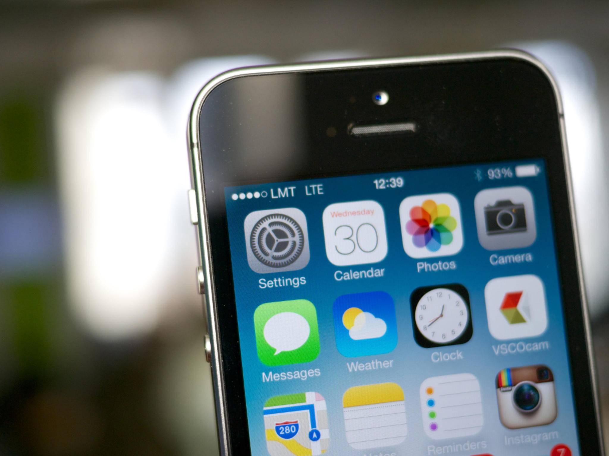 Das iPhone 5se setzt offenbar auf die iPhone 5s-Optik.