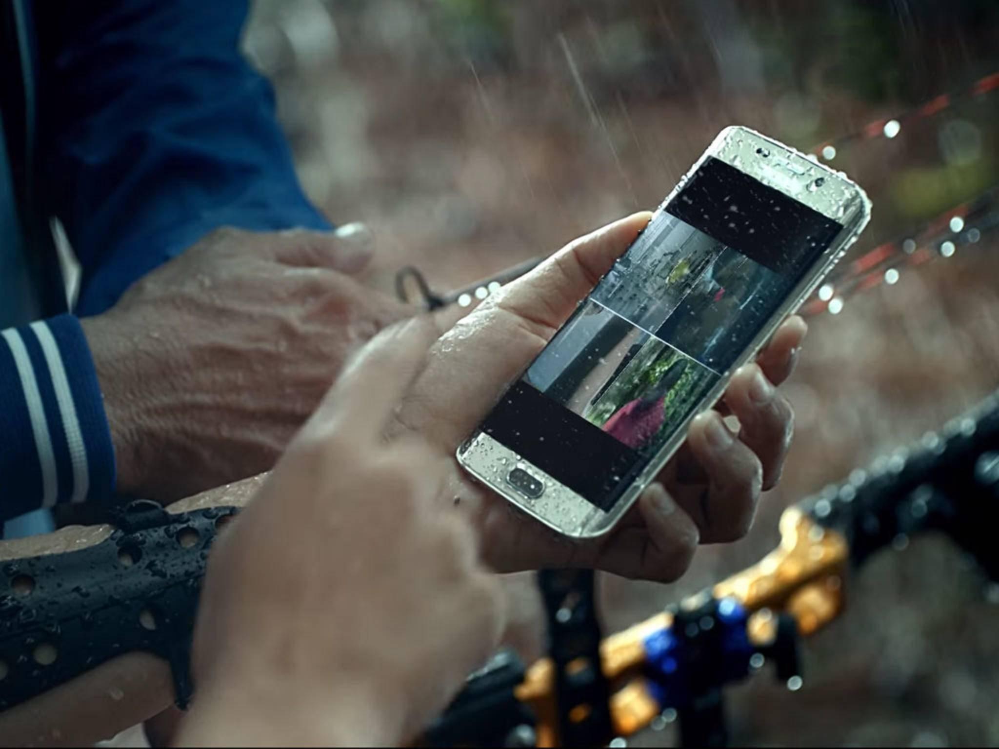 Das Samsung Galaxy S7 Edge zeigte sich schon vor dem MWC in zahlreichen Leaks.