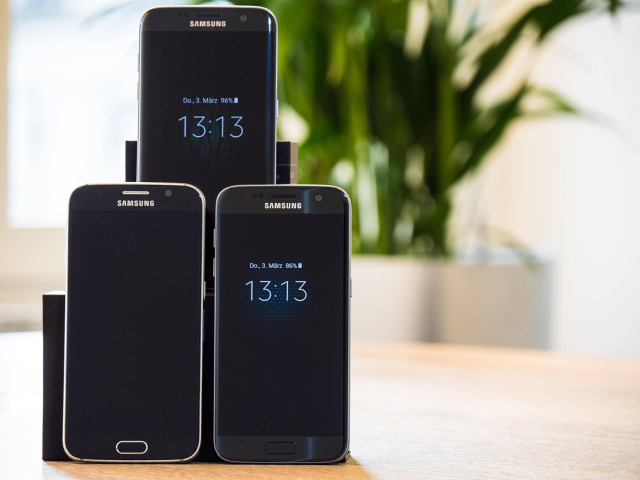 Ein grundlegend neues Design bringt das Galaxy S7 nicht mit.