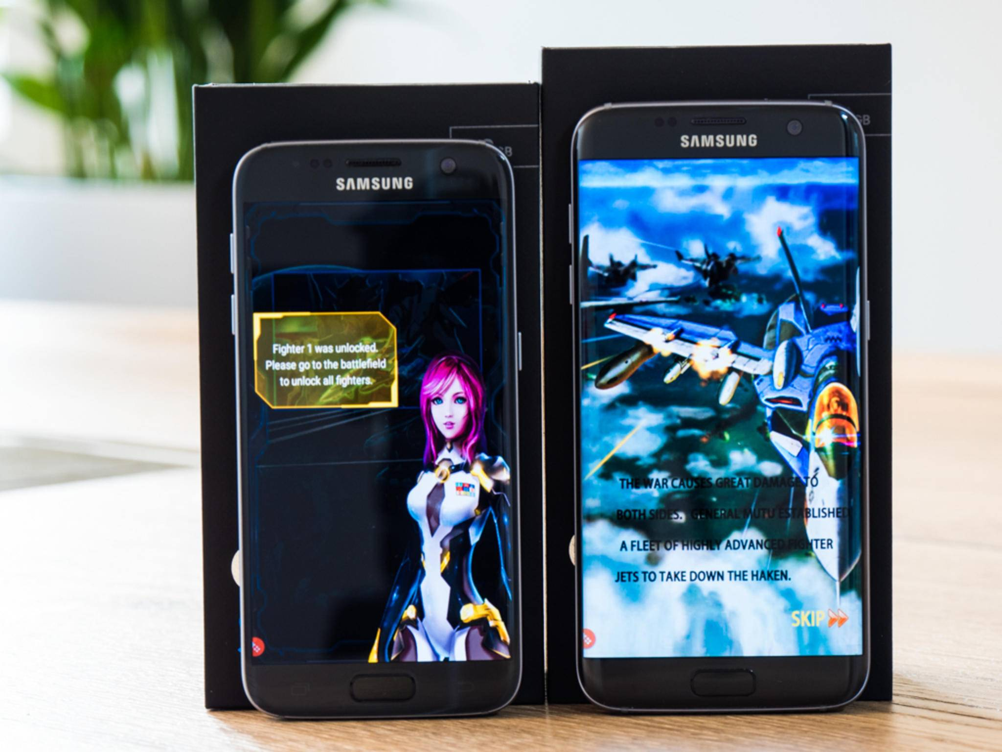 Frisches Software-Update für Galaxy S7 und Galaxy S7 Edge.