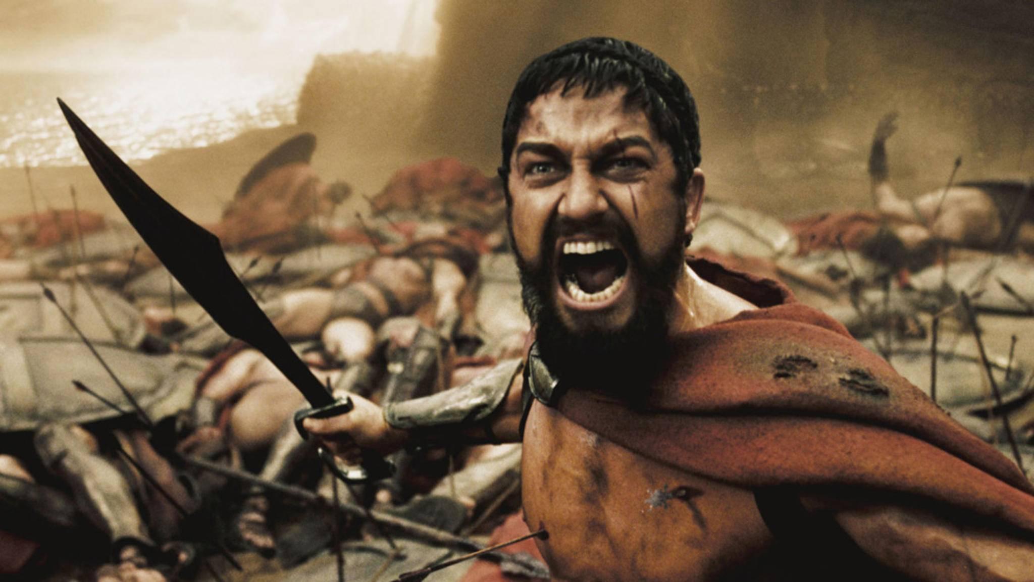 """""""300"""": Ein echter Spartaner braucht keine Rüstung!"""