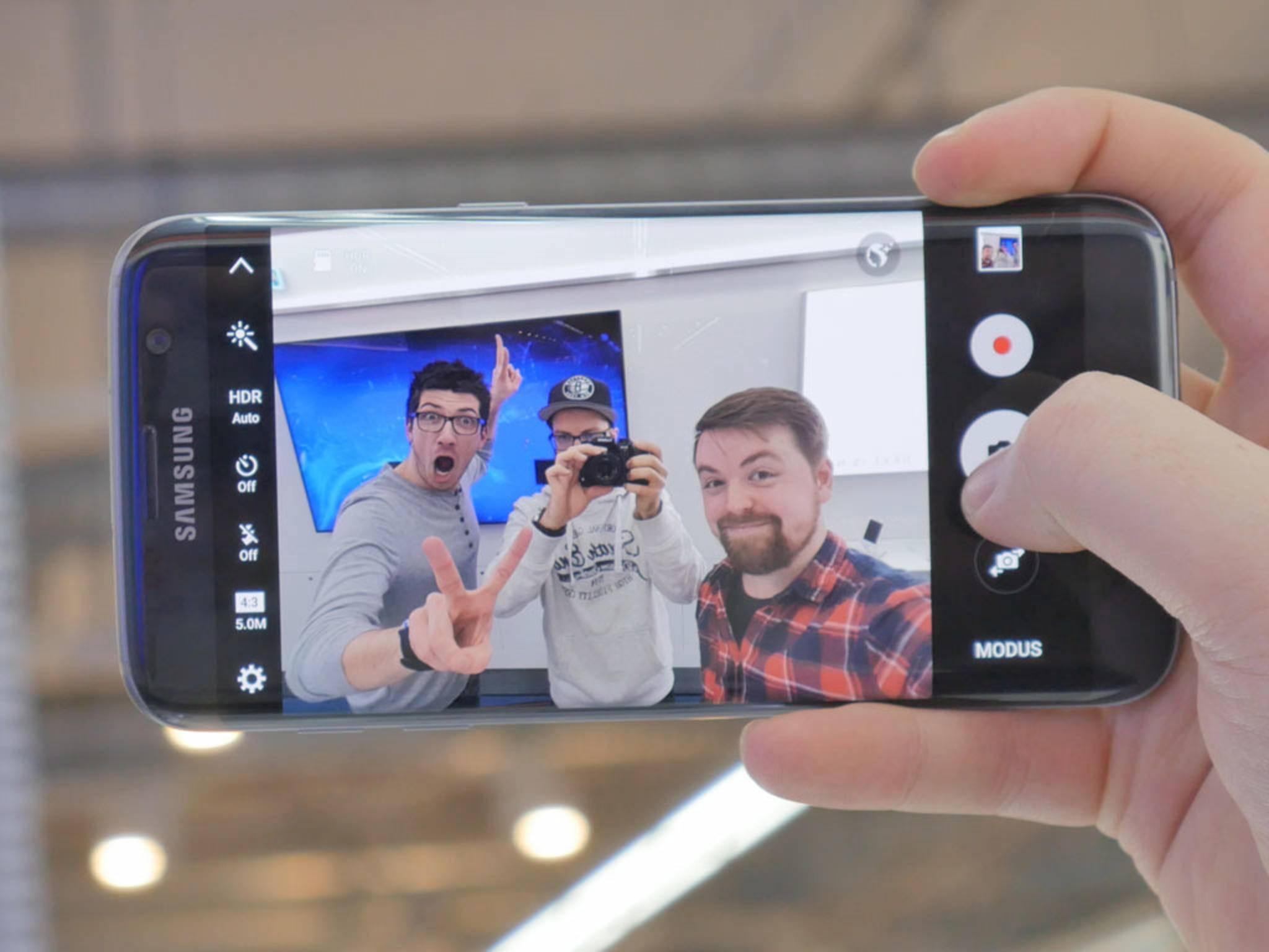 Alex, Jens, Samsung Galaxy S7