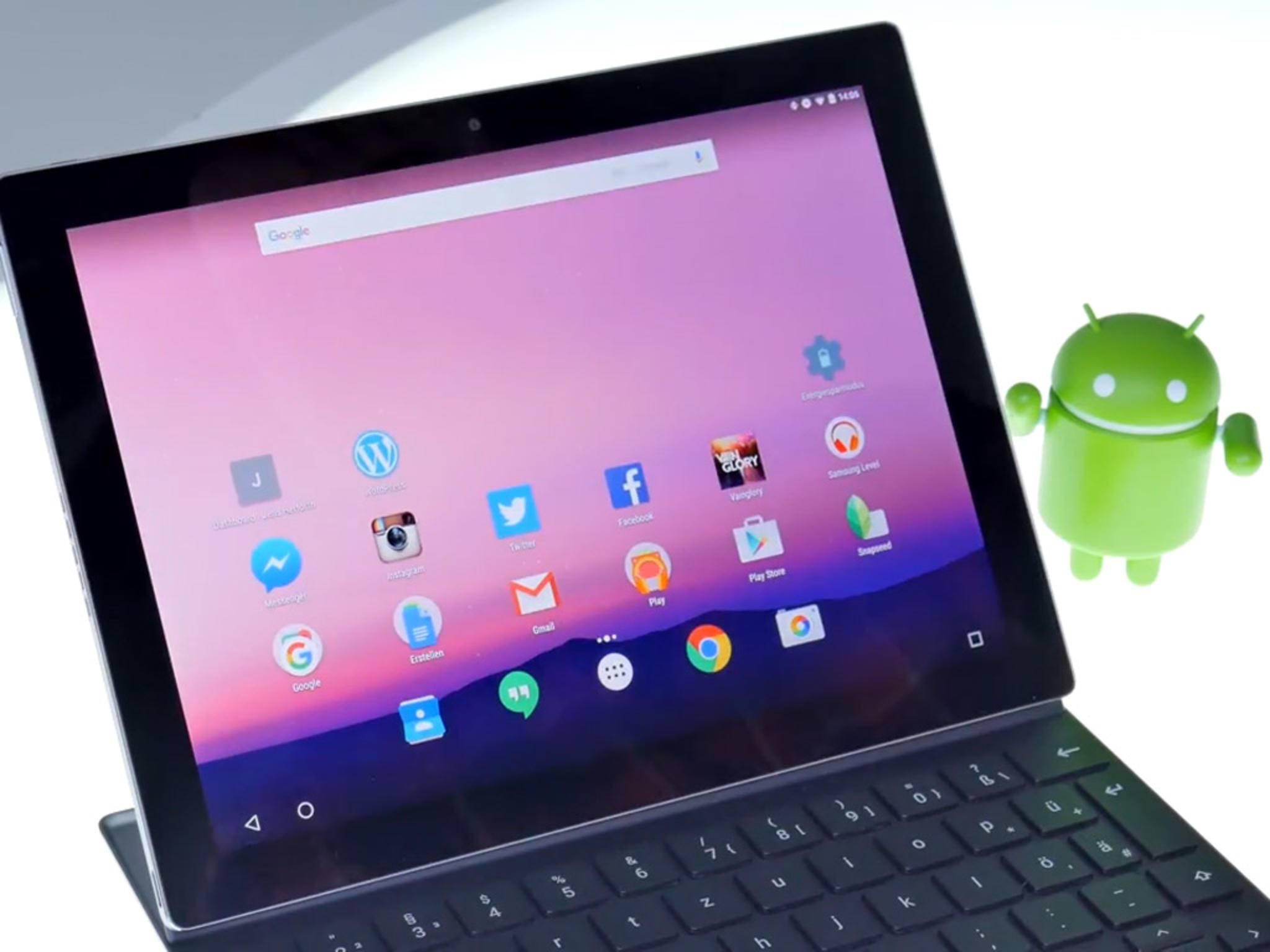 Auf der Google I/O wird das Betriebssystem Android 7.0 N ausführlich vorgestellt.