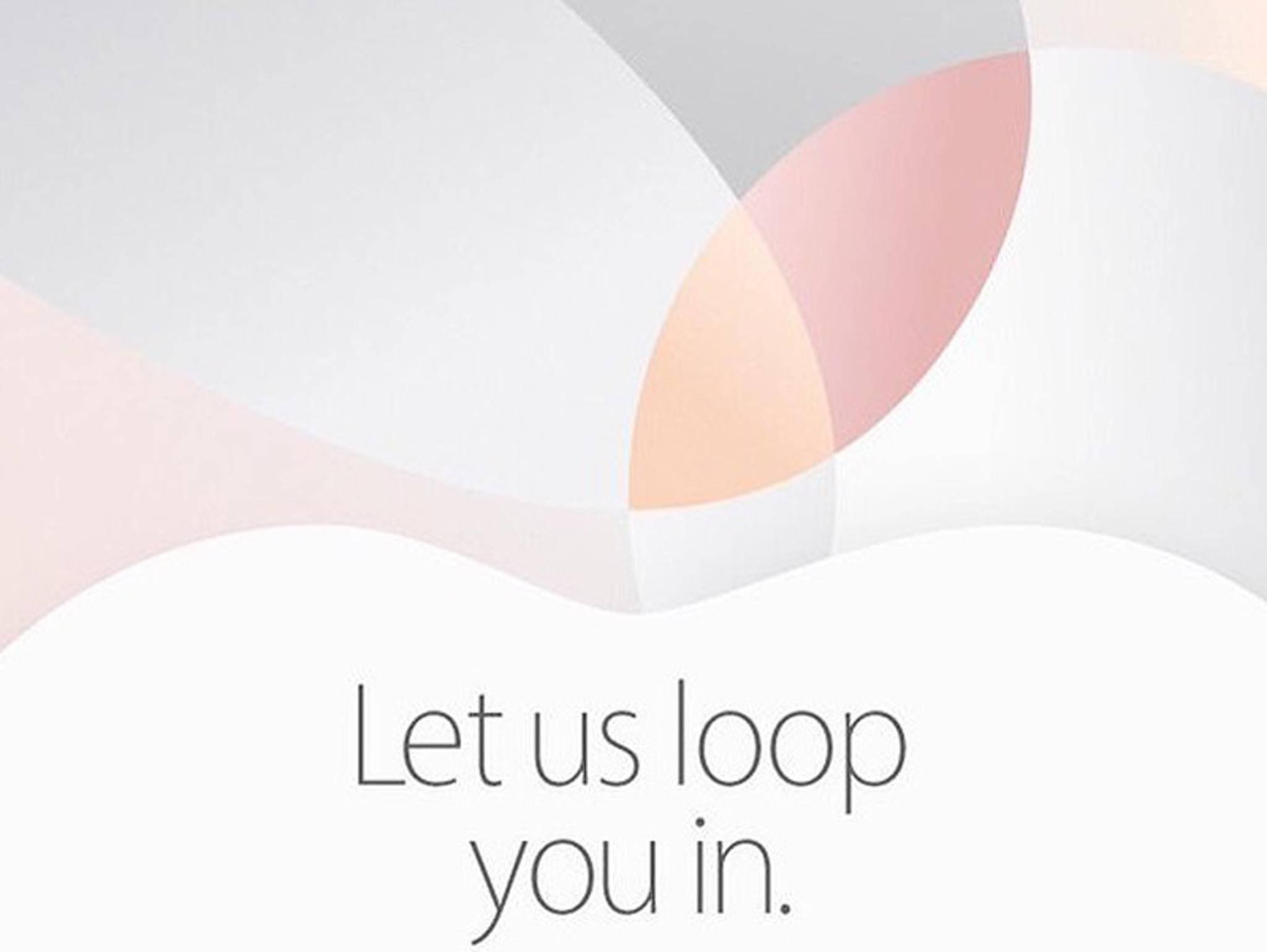Apple lädt am 21. März zu seiner iPhone SE-Keynote ein.