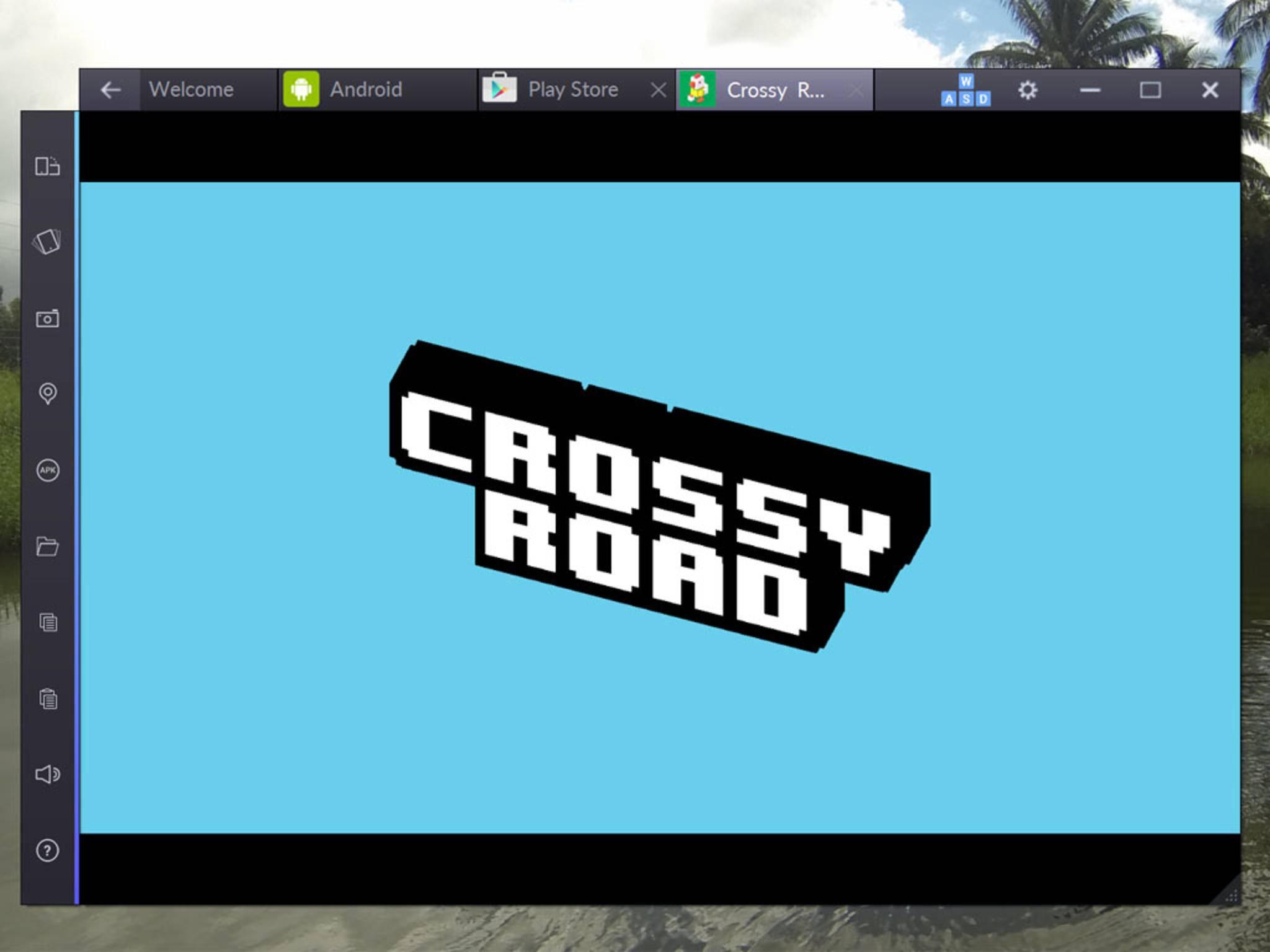 Nach der Installation können Mobile Games auch am PC gespielt werden.