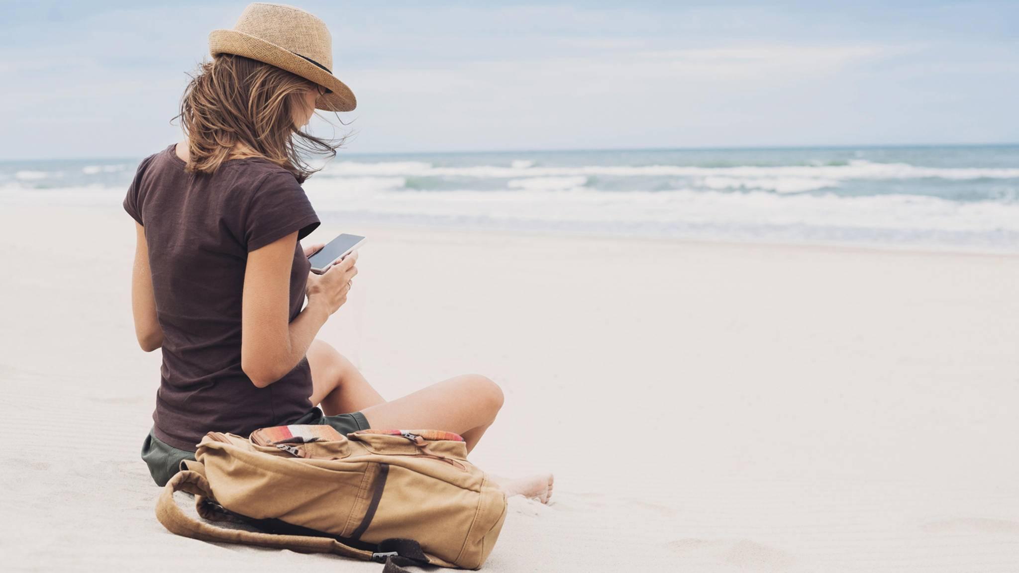 Wer entspannen will, kann sich von zahlreichen Apps dabei unterstützen lassen.