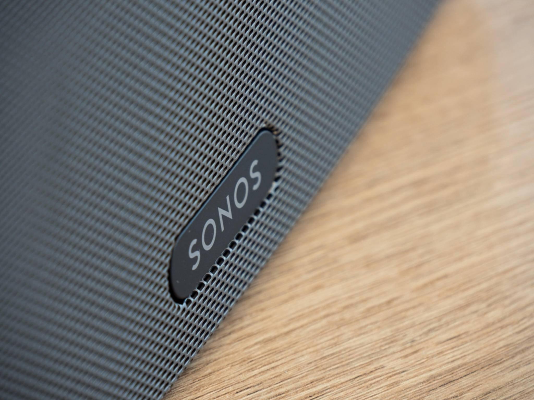 Die Sonos-Box Play:3 hat ...