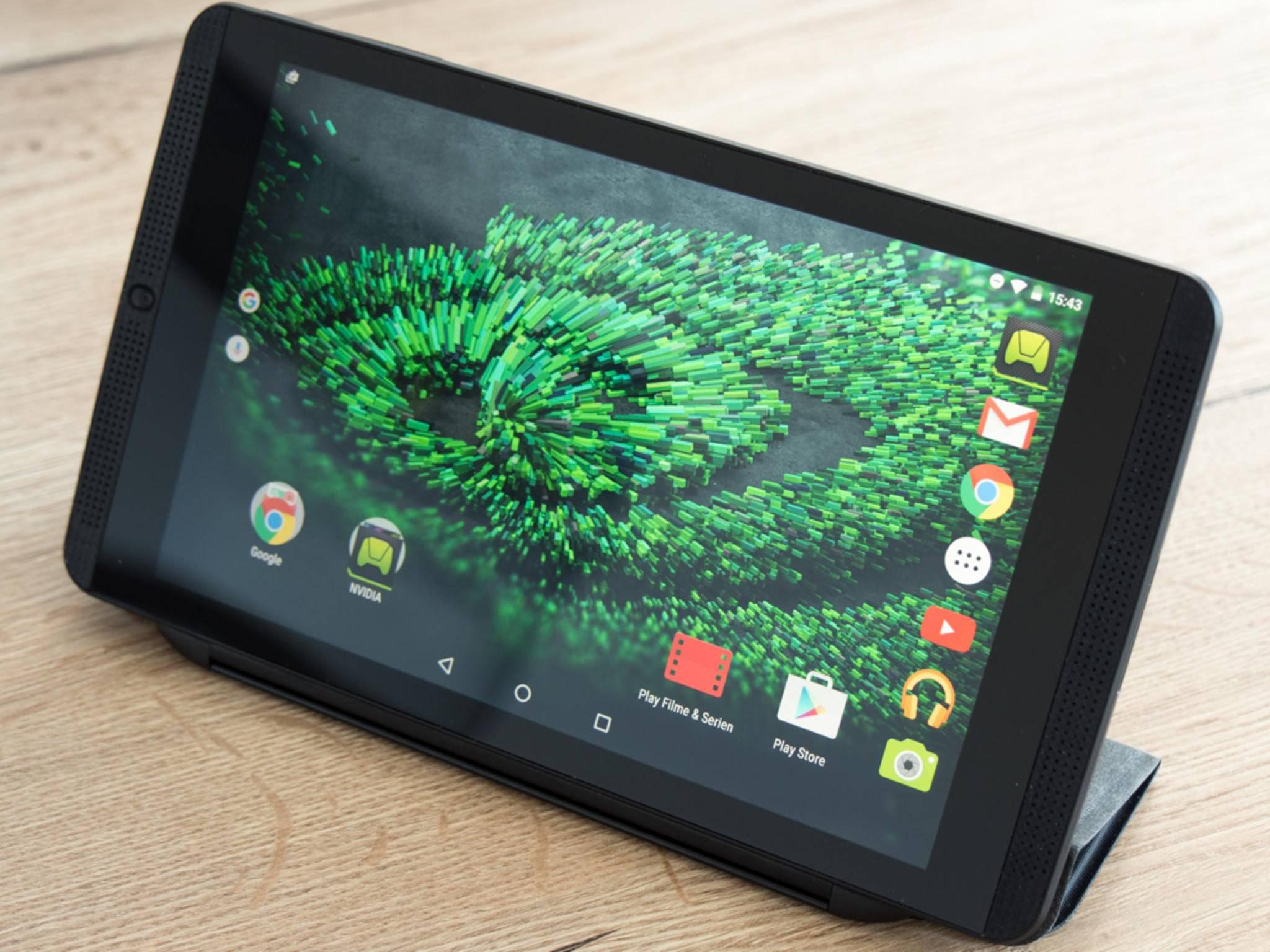 Das Shield K1 bekommt ein Update auf Android 7.0.