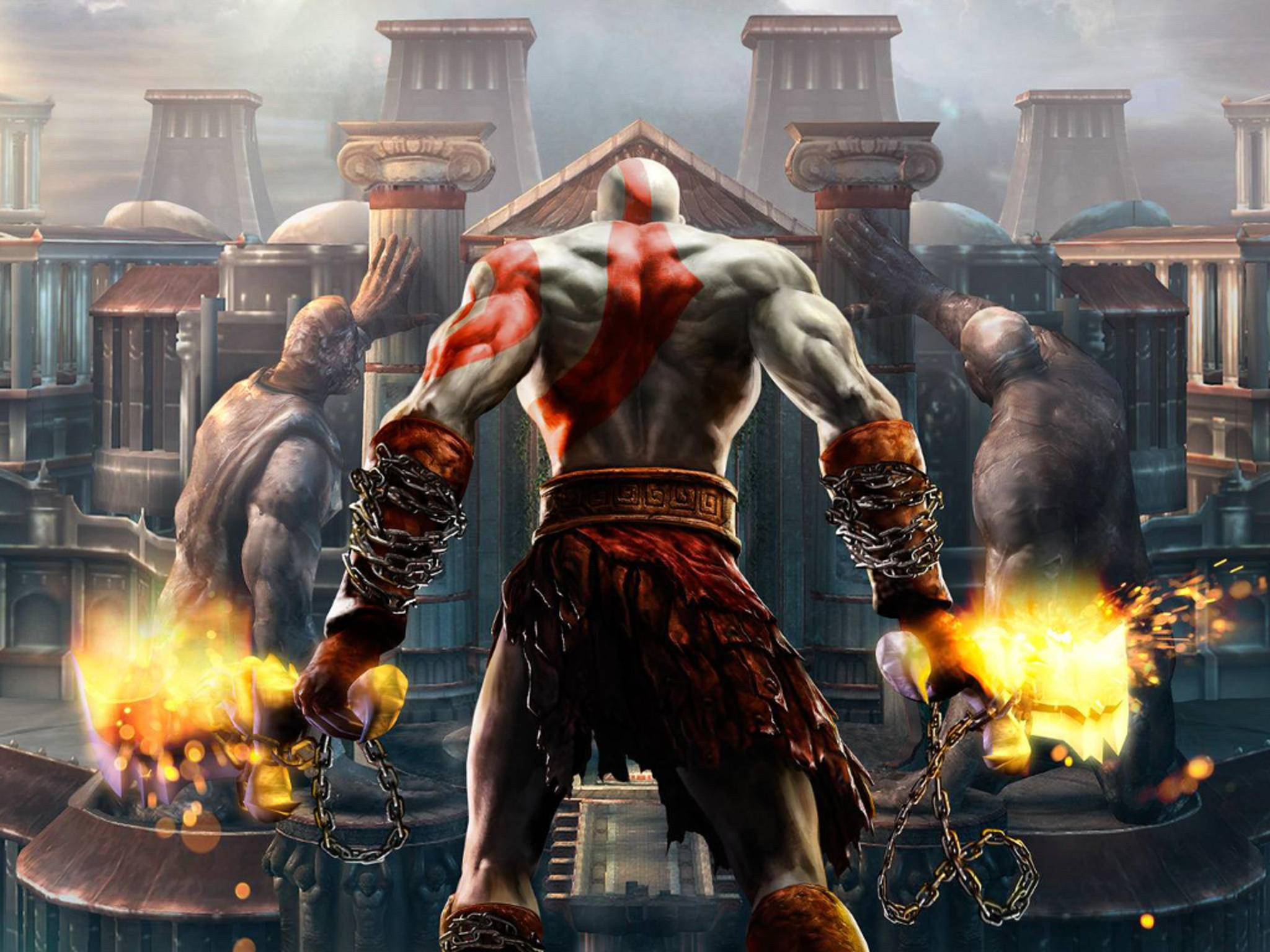"""""""God of War"""" hatte ein paar wirklich schlimme Jump 'n' Run-Level."""