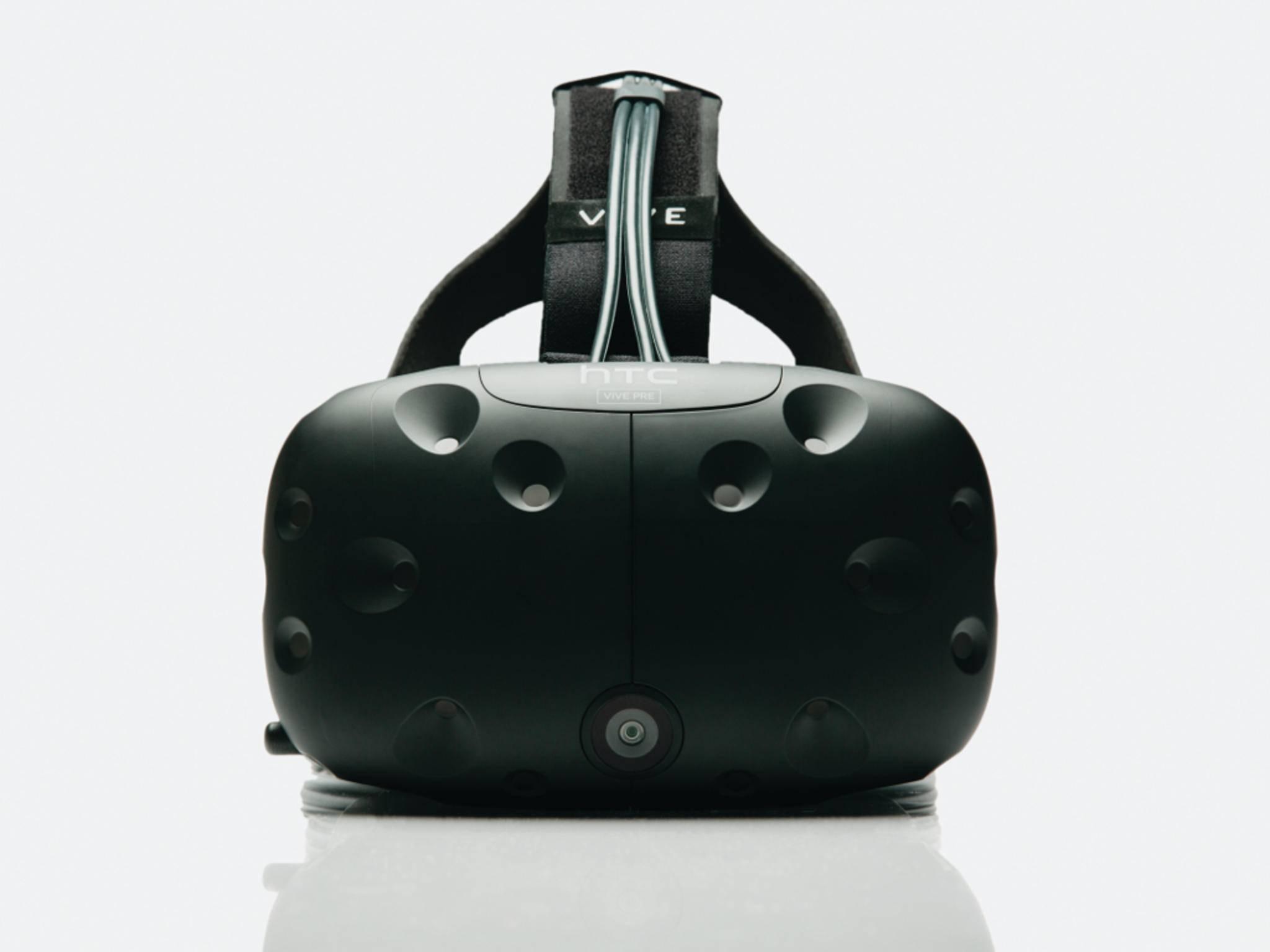 DIe HTC Vive soll mit dem HTC 10 zusammenarbeiten.