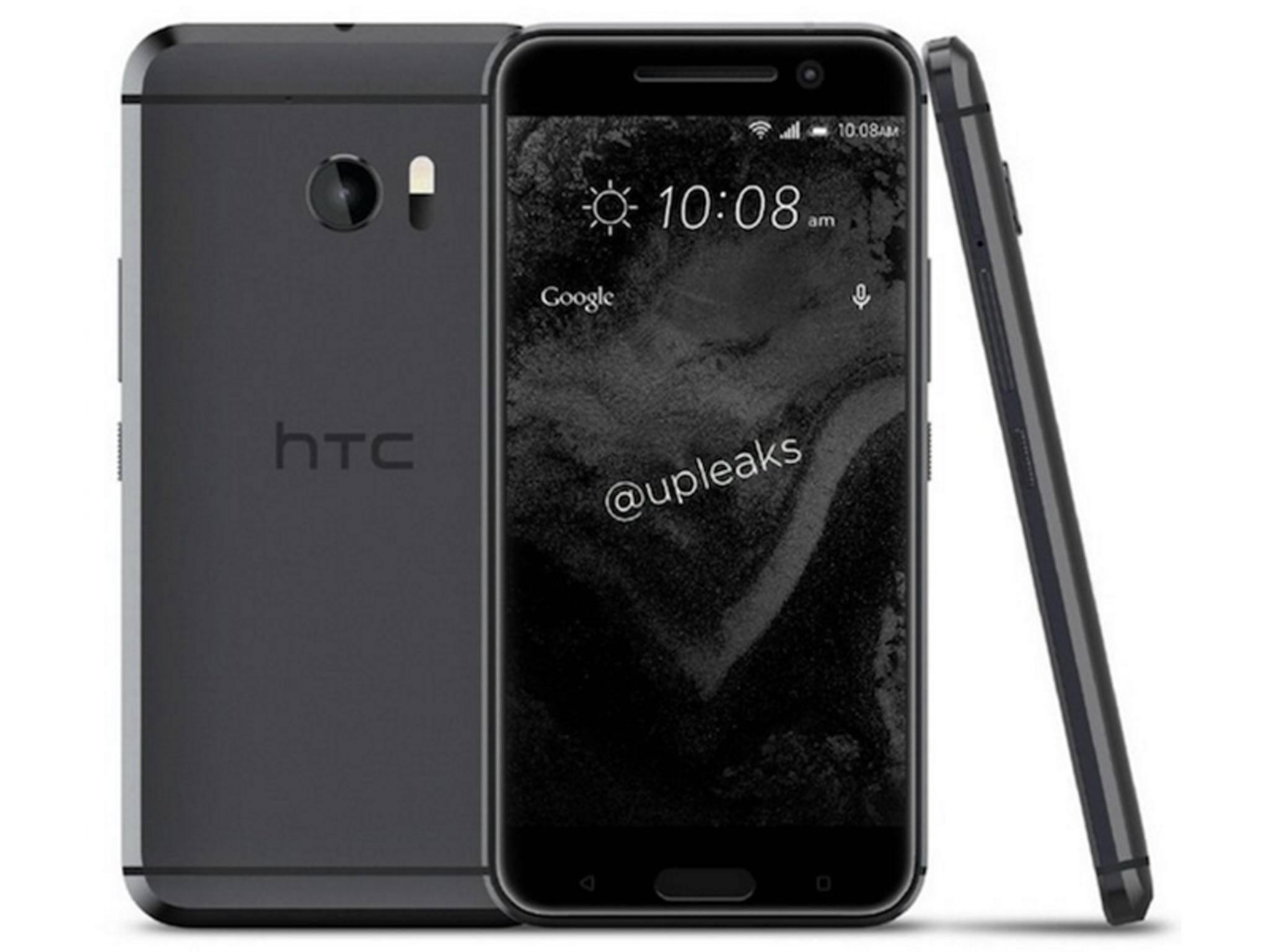 Diese Render-Bilder zum HTC 10 wurden bereits geleakt.