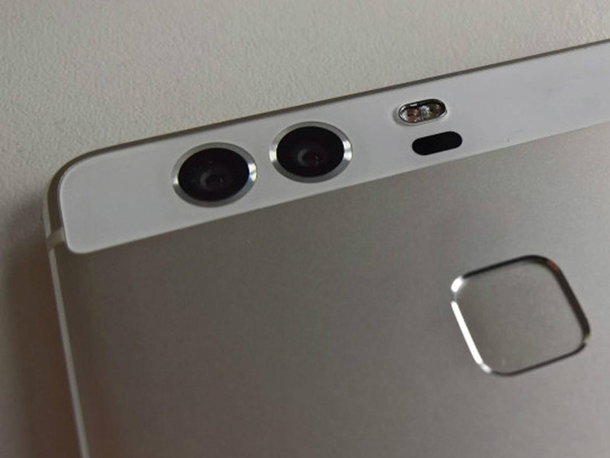 Die Dual-Linse des Huawei P9 stammt vom deutschen Traditionsunternehmen Leica.