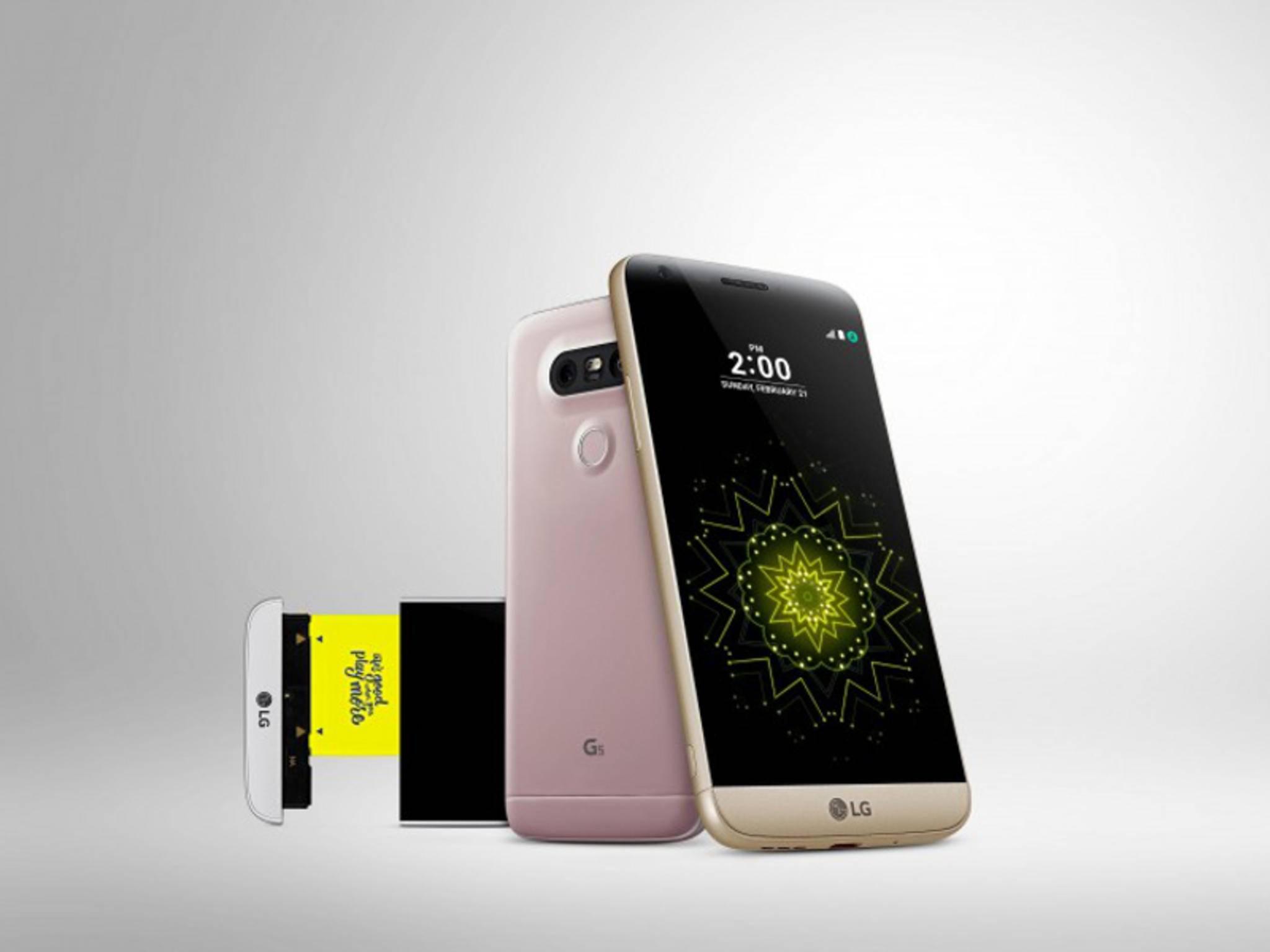Das LG G5 dürfte eines der Smartphone-Highlights im April werden.